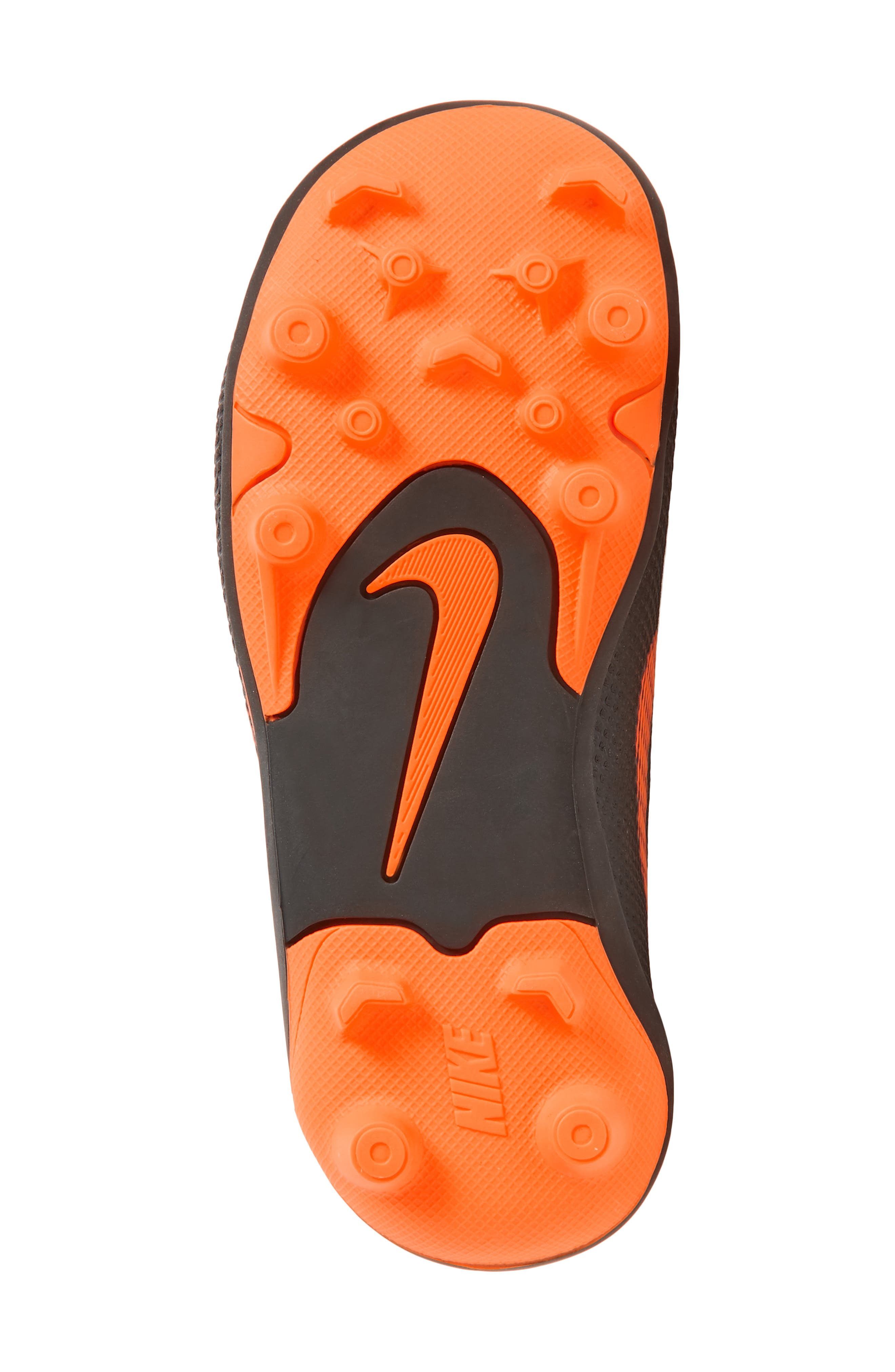 Tiempo Legend 7 Club Firm Ground Soccer Cleat,                             Alternate thumbnail 6, color,                             Black/ Total Orange/ White