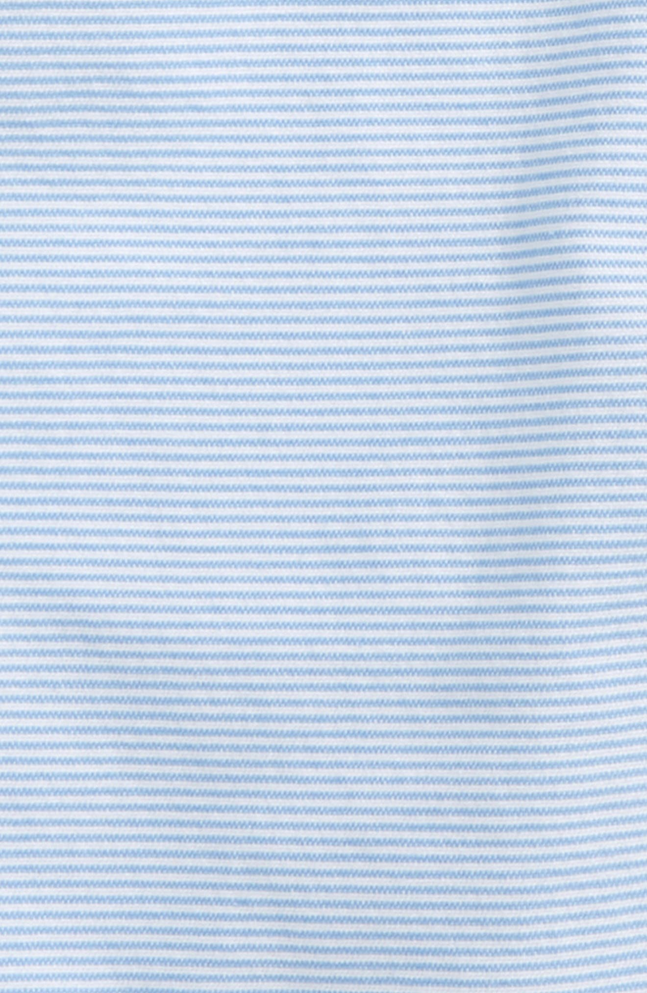 Oxford Stripe Shorts,                             Alternate thumbnail 2, color,                             Ocean Breeze