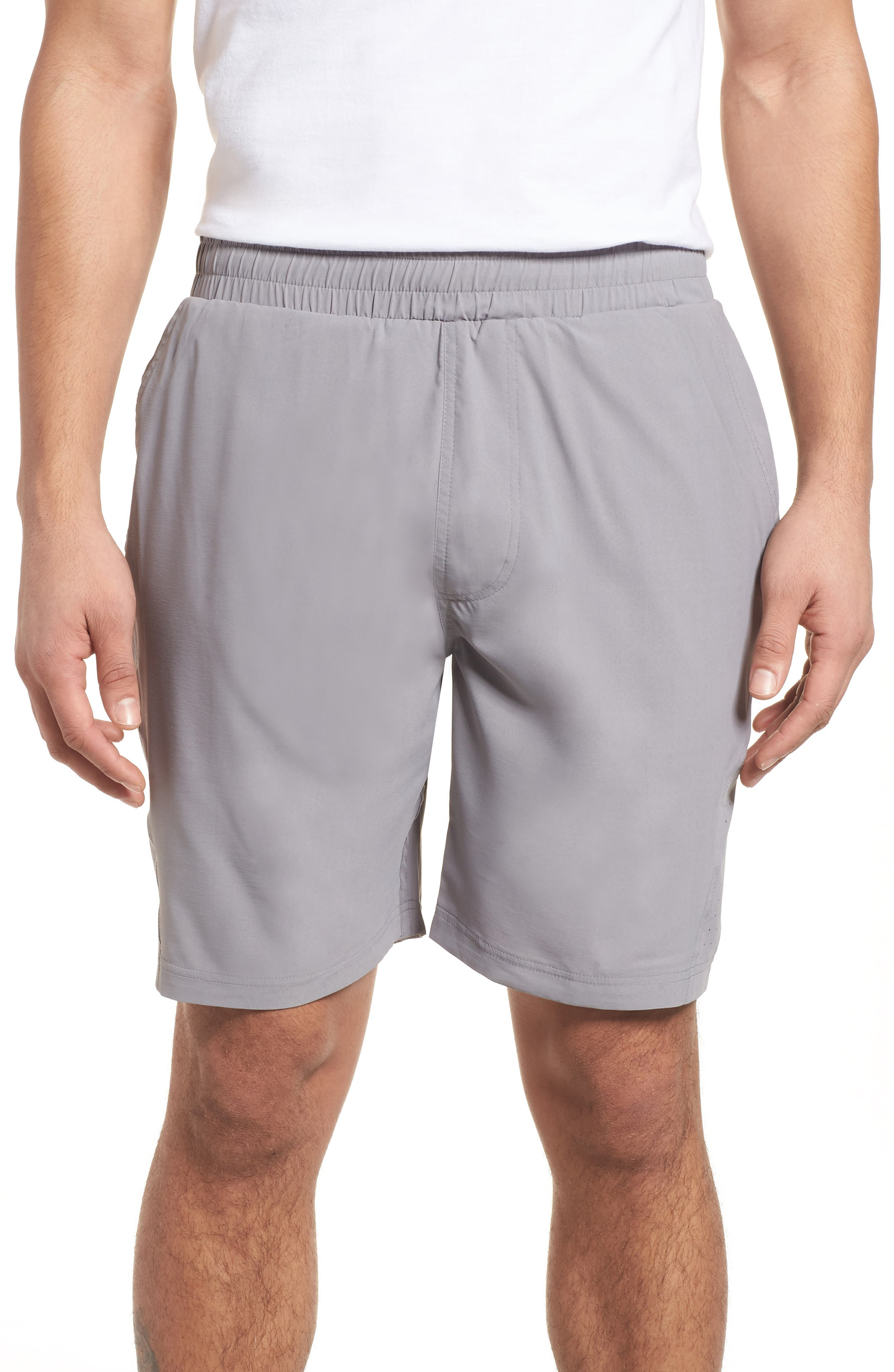 Charge Water Resistant Athletic Shorts,                         Main,                         color, Monument