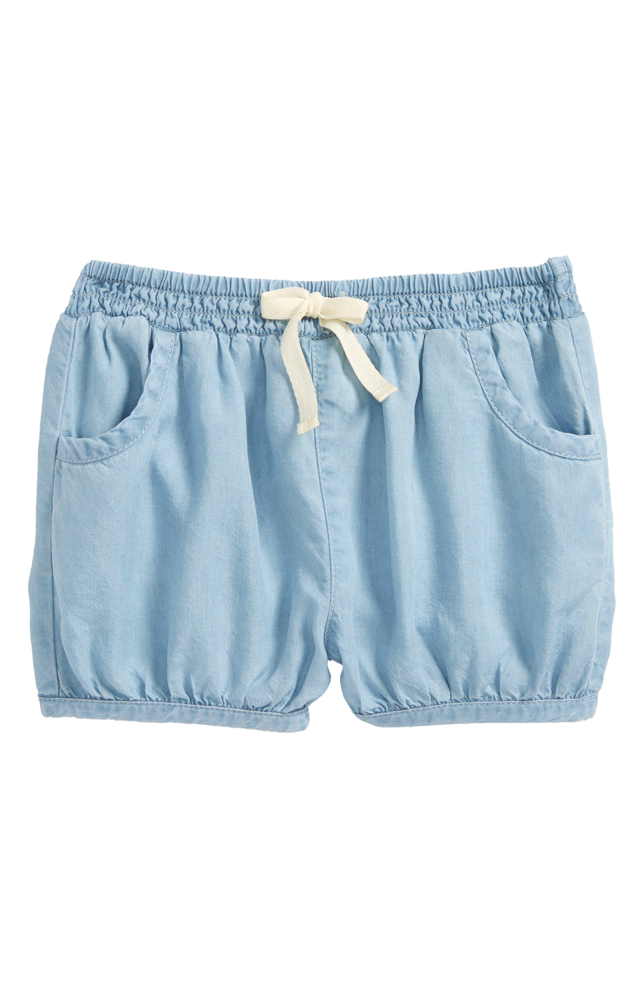Essential Shorts,                         Main,                         color, Light Blue Wash