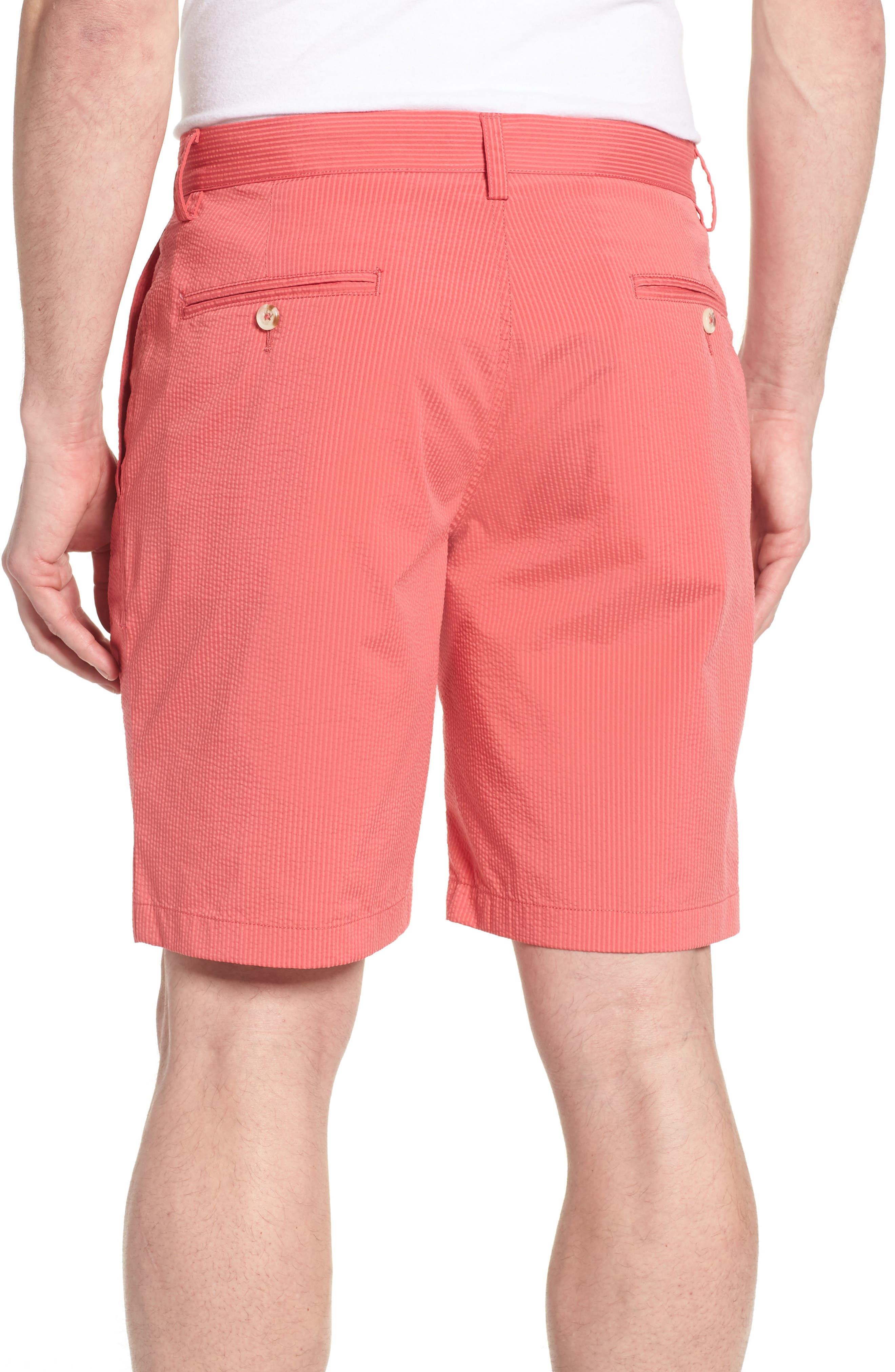 Seersucker Shorts,                             Alternate thumbnail 2, color,                             Charleston Red