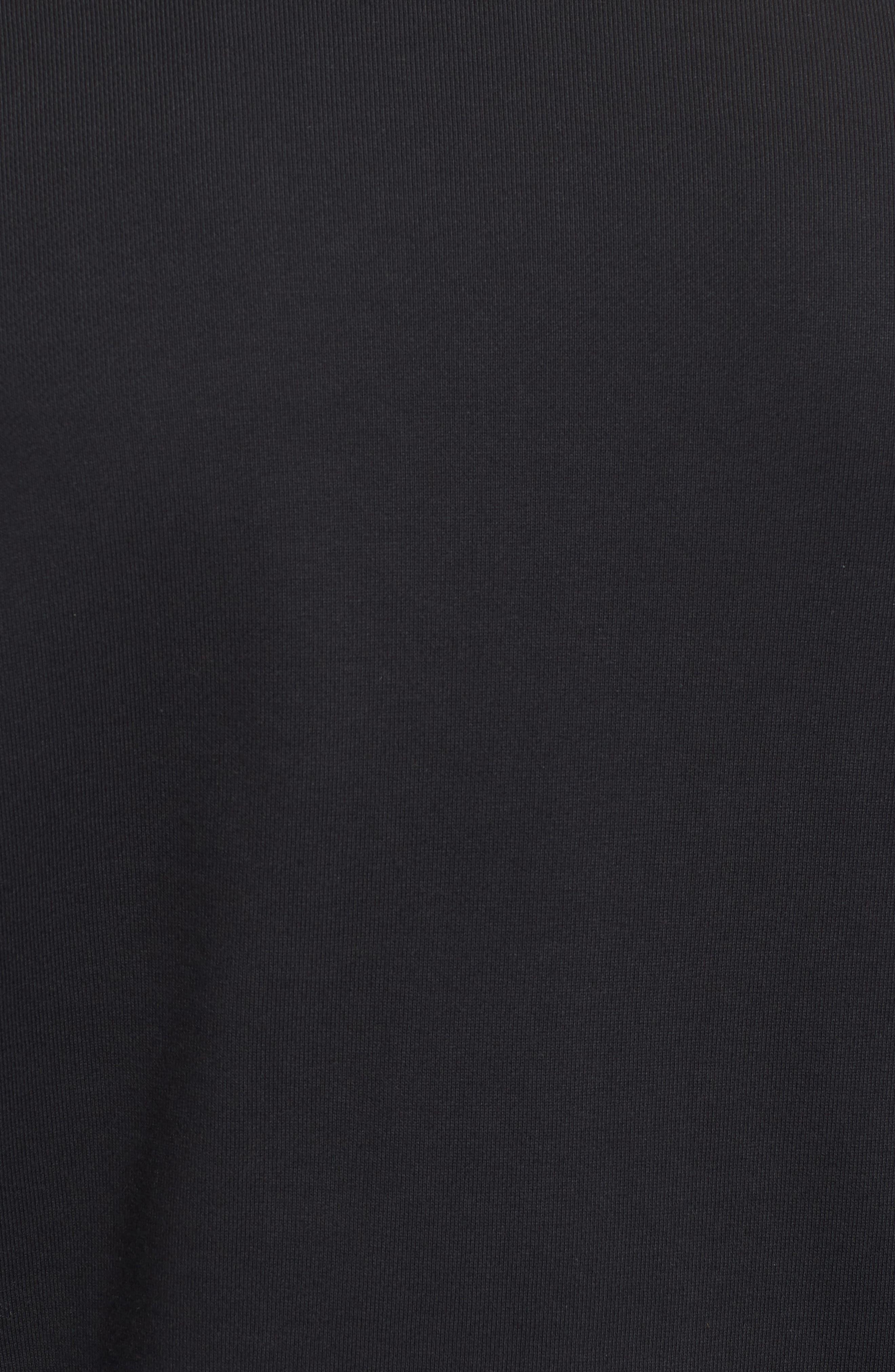 NSW Air Max Crewneck Sweatshirt,                             Alternate thumbnail 5, color,                             Black/ Black/ Black