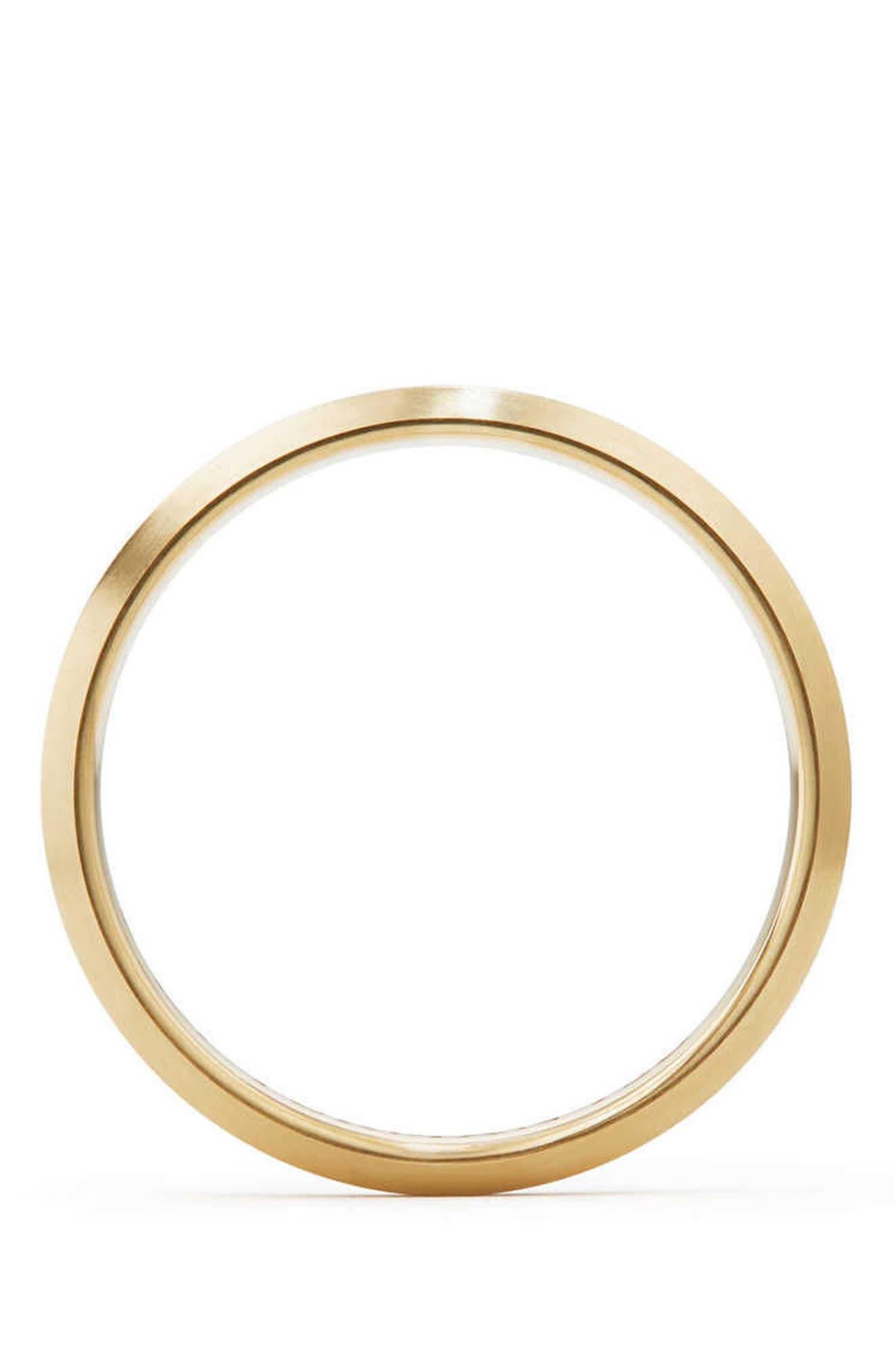 Streamline Band Ring in 18K Gold,                             Alternate thumbnail 2, color,                             Gold