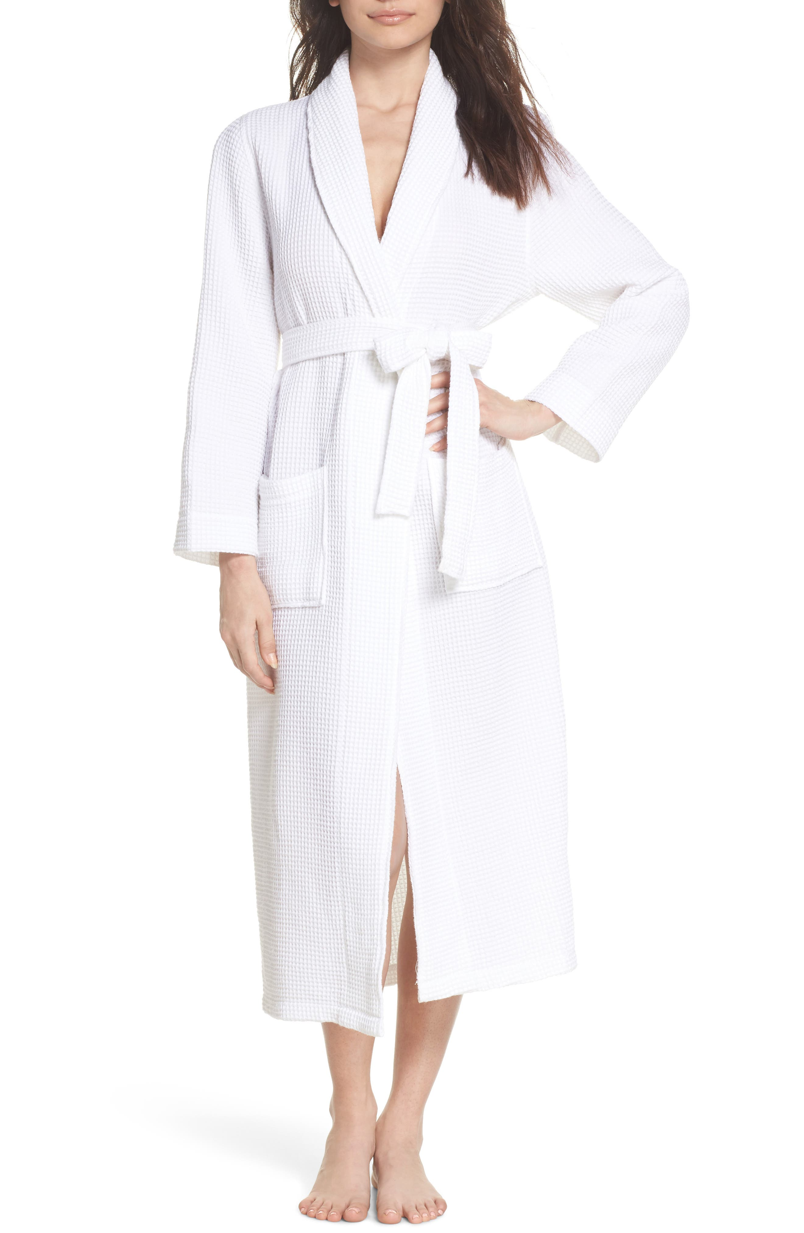 Main Image - Papinelle Cotton Waffle Knit Robe