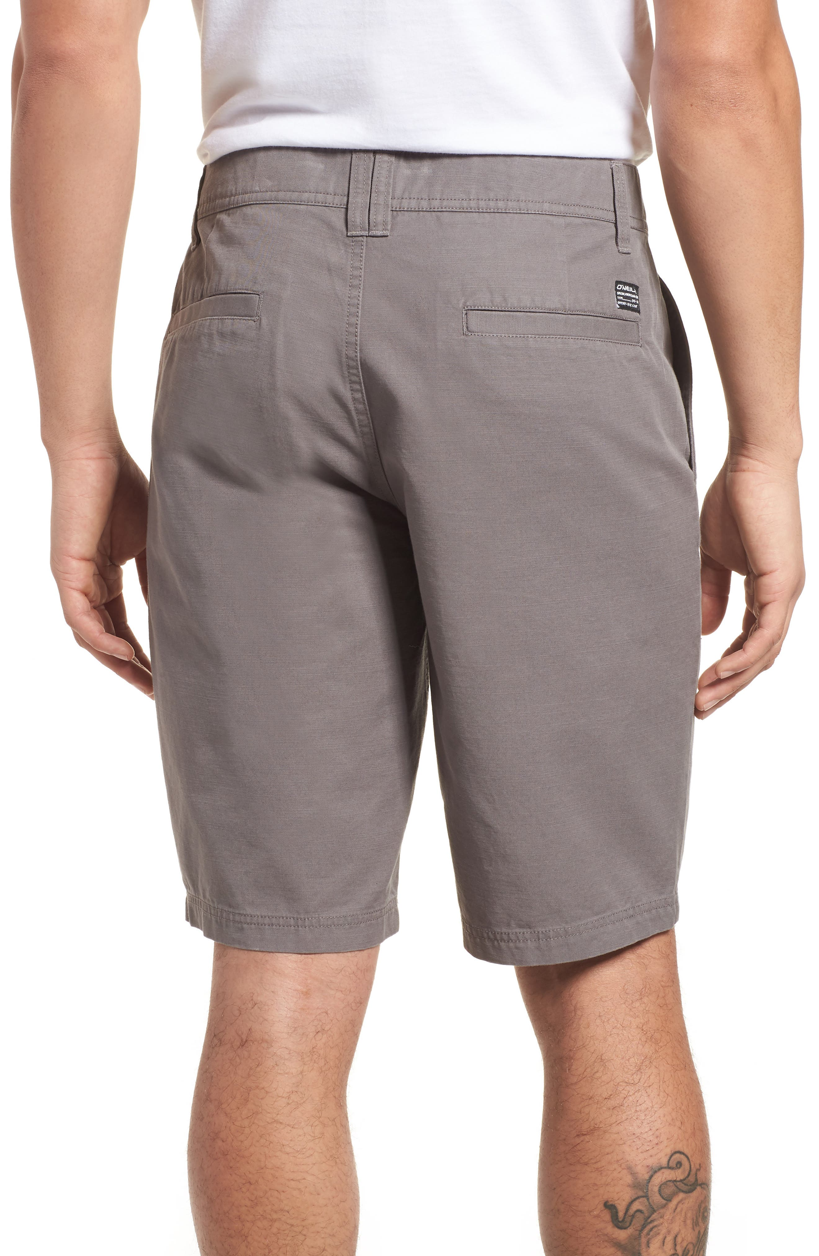 Jay Chino Shorts,                             Alternate thumbnail 2, color,                             Grey