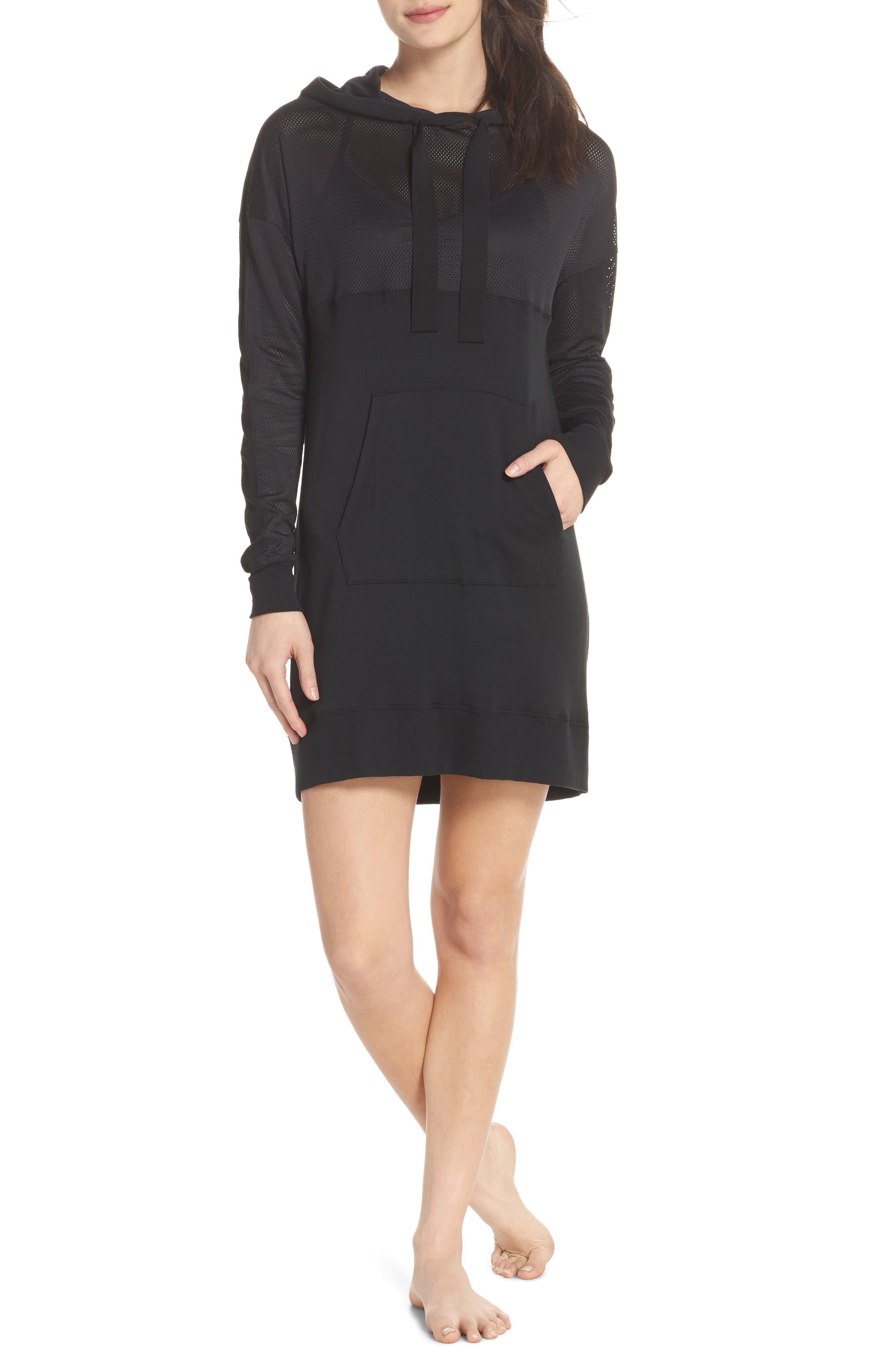 Range Dress,                         Main,                         color, Black