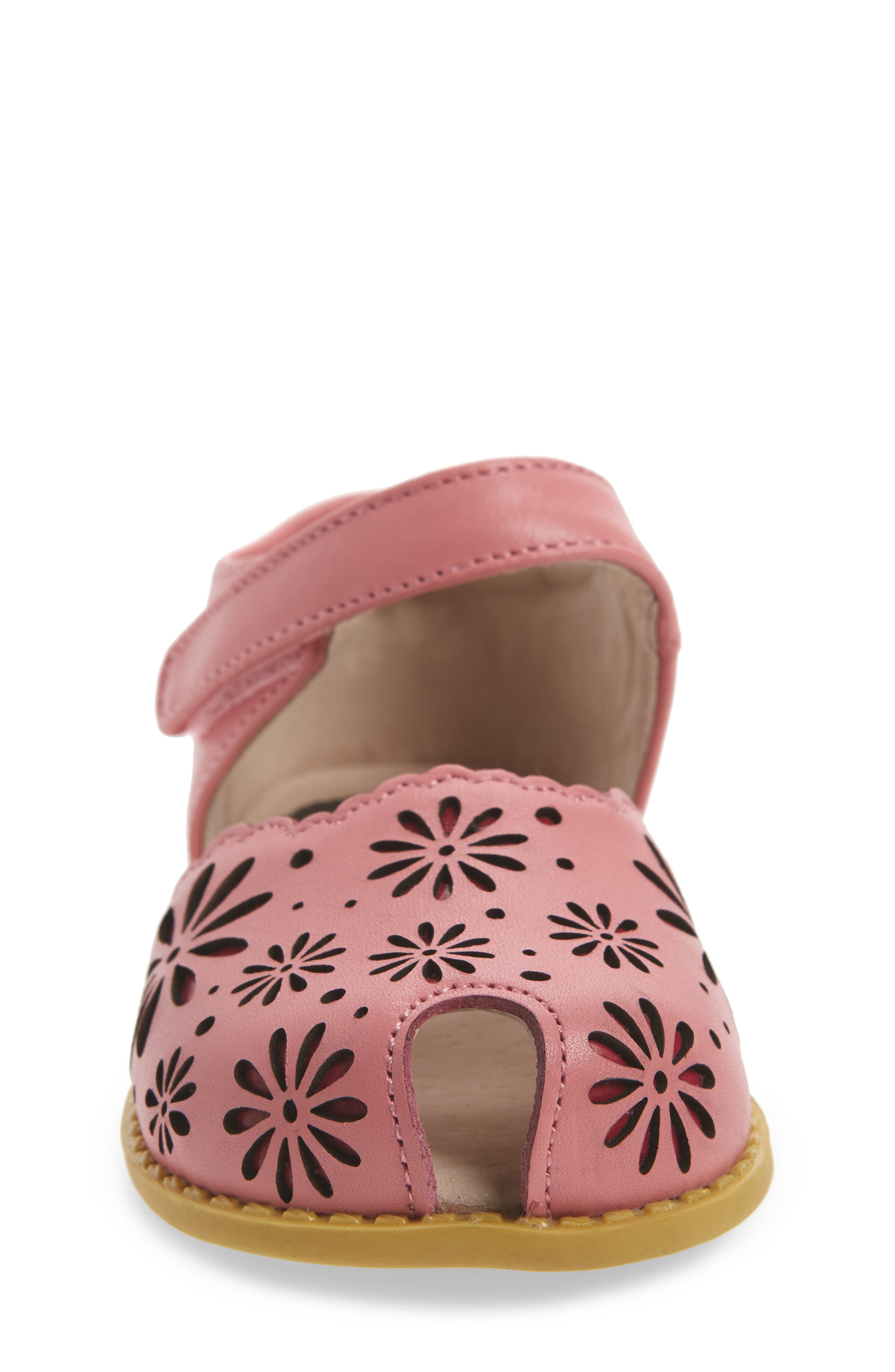 Carmen Glitter Sandal,                             Alternate thumbnail 4, color,                             Rosy Pink
