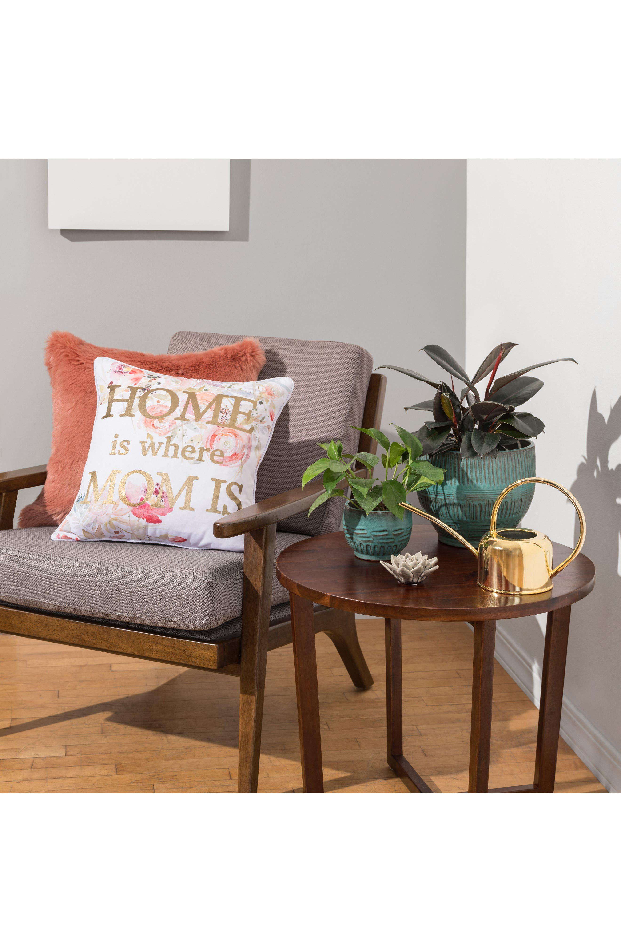 Home Is Where Mom Is Accent Pillow,                             Alternate thumbnail 2, color,