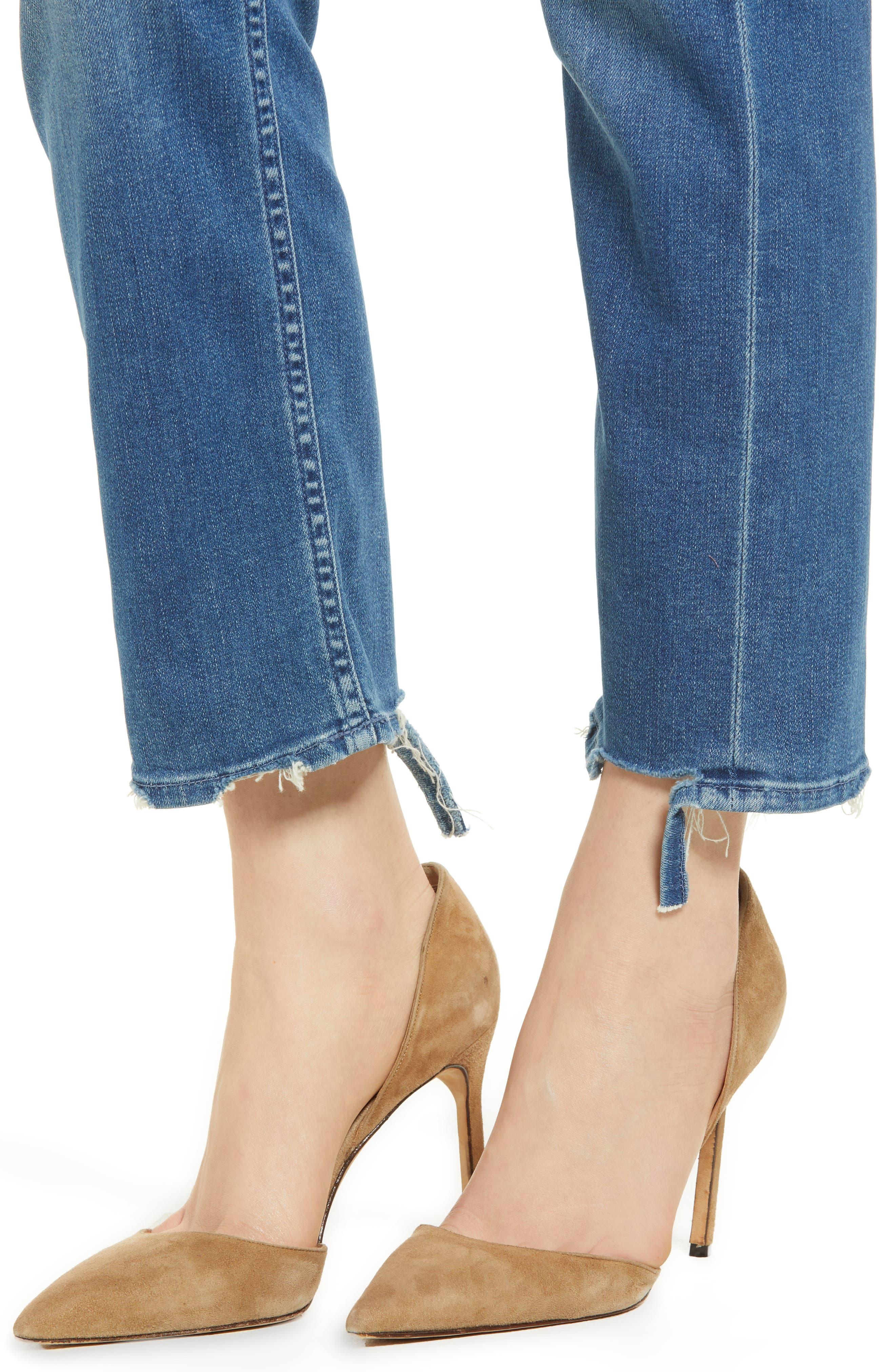 The Tomcat Ankle Straight Leg Jeans,                             Alternate thumbnail 4, color,                             Tequila Mockingbird