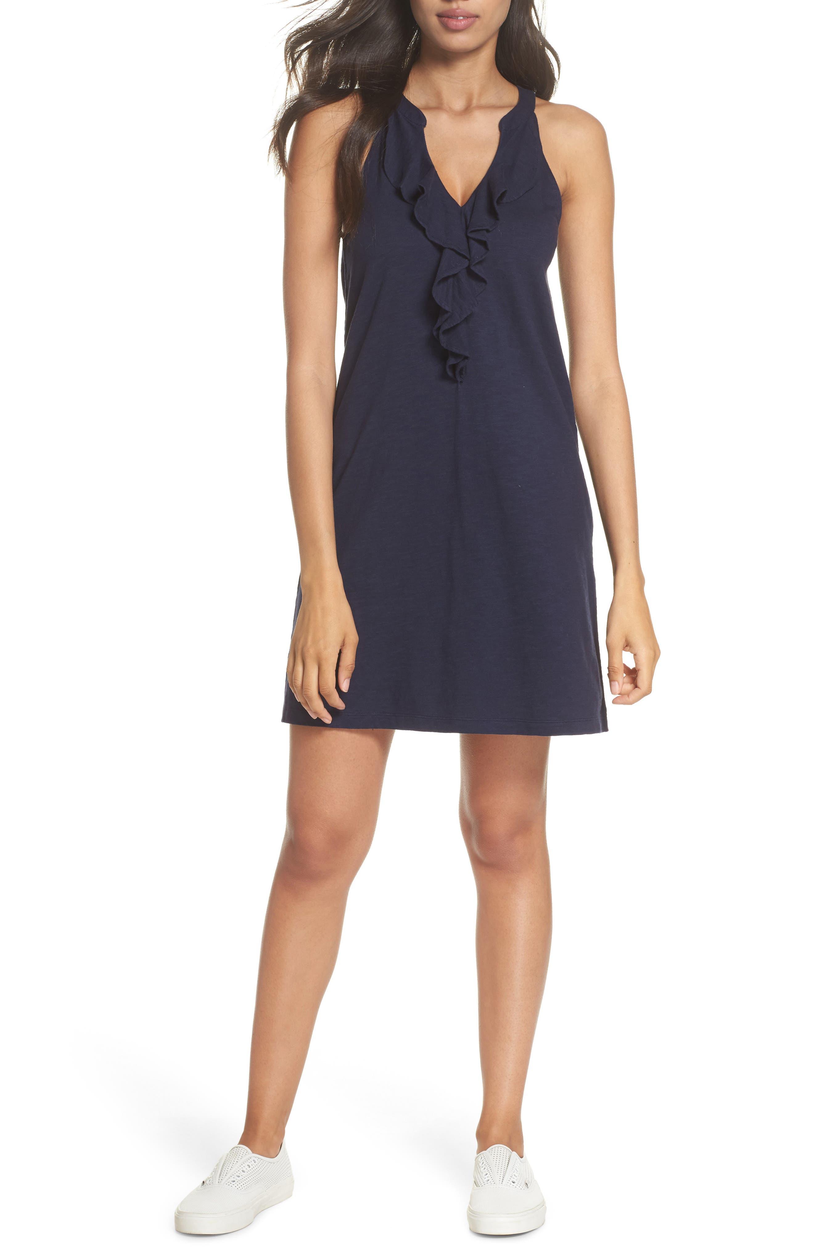 Lilly Pulitzer® Shay Ruffle Tank Dress