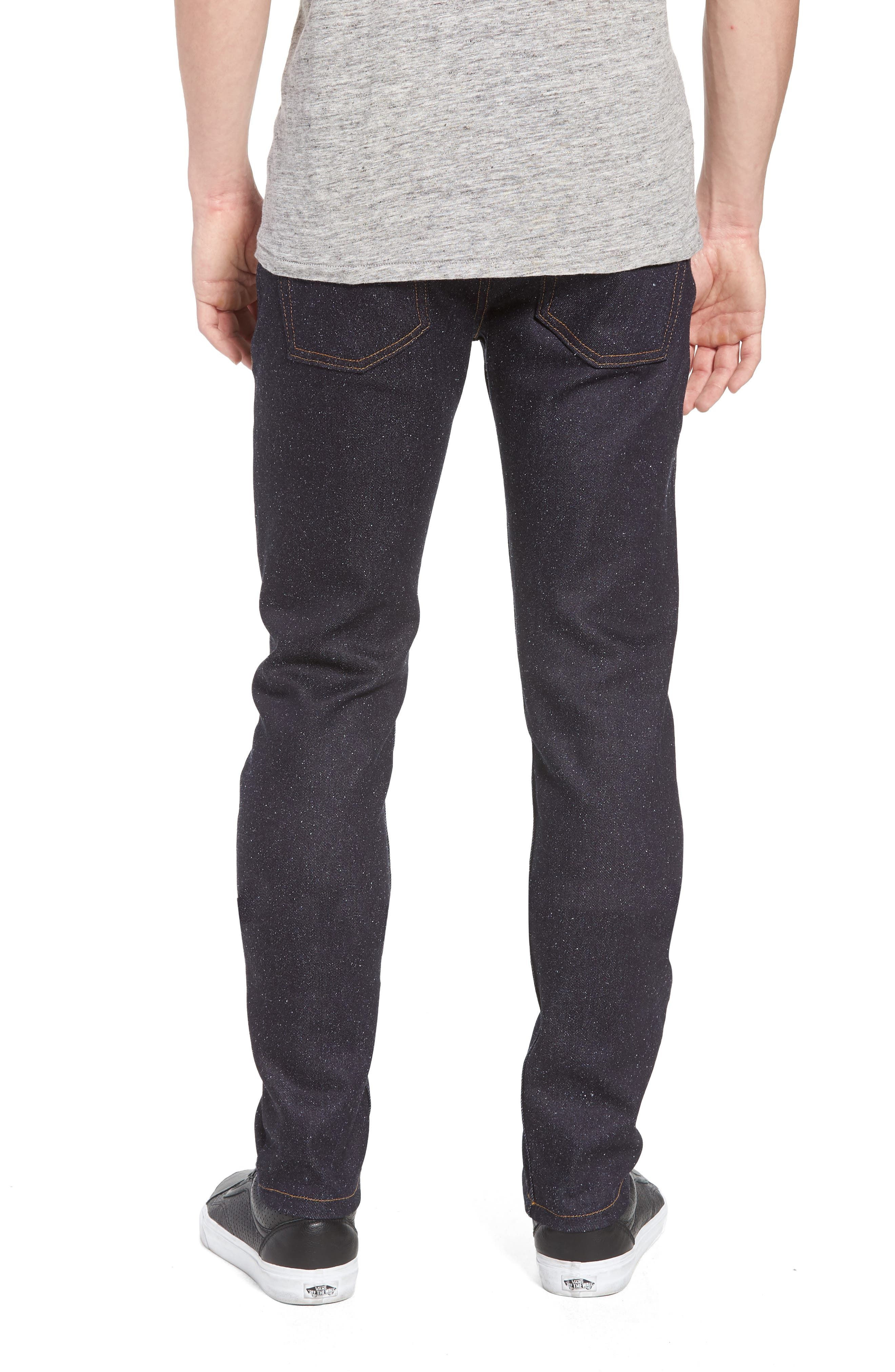 Super Skinny Guy Skinny Fit Jeans,                             Alternate thumbnail 2, color,                             Indigo
