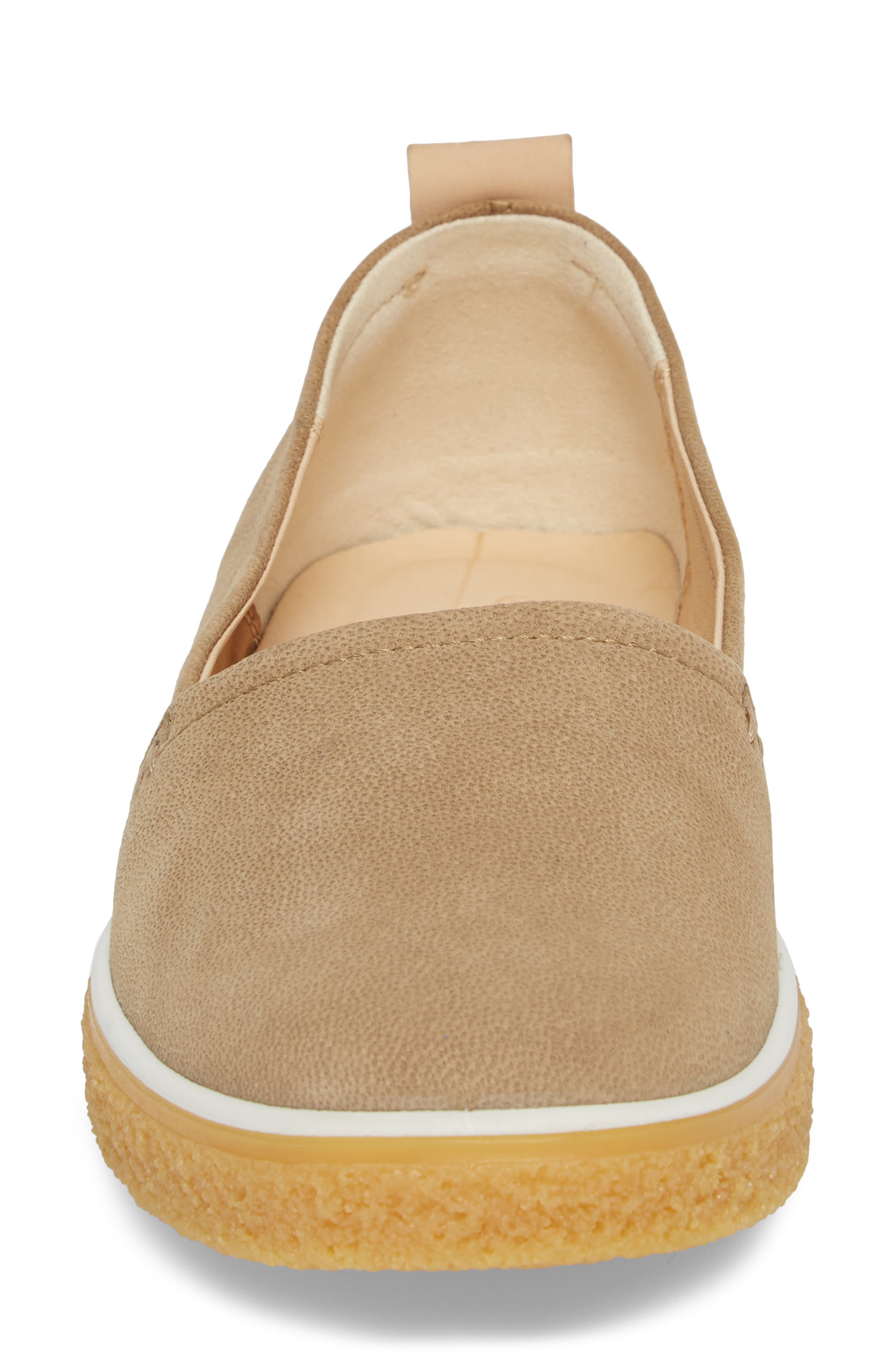 Crepetray Slip-On,                             Alternate thumbnail 4, color,                             Brown Leather