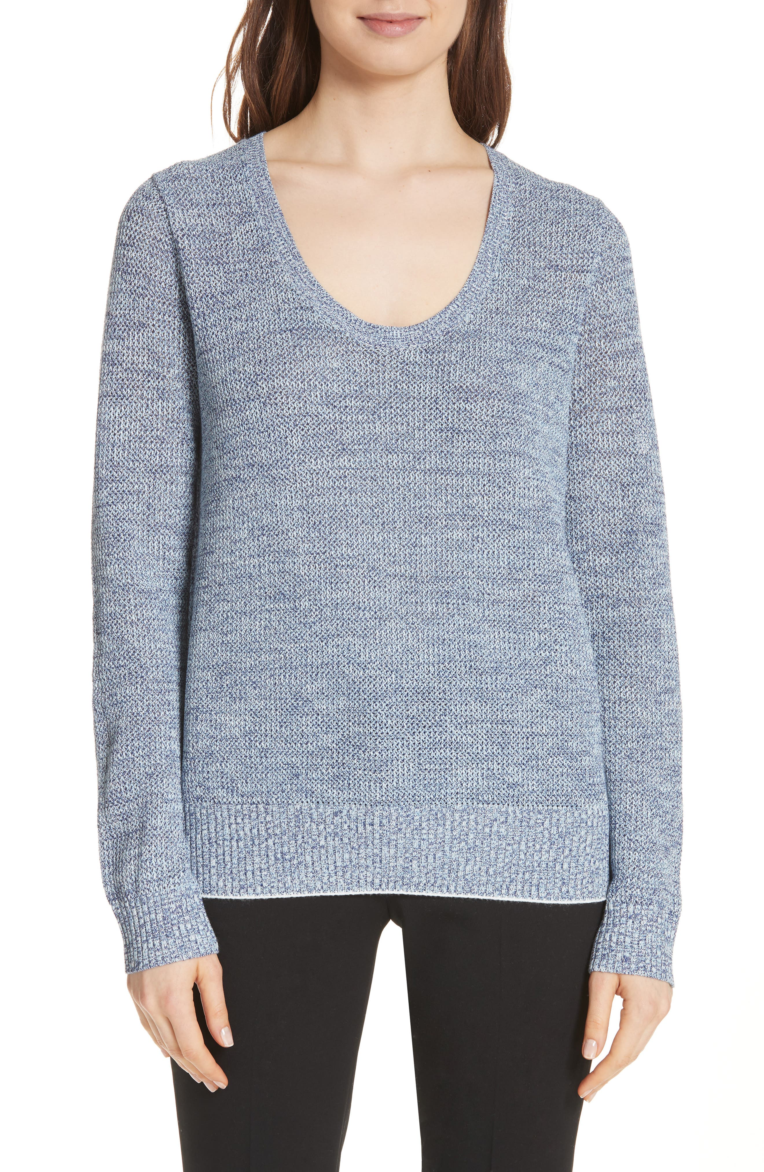 Main Image - Theory Prosecco Marled Sweater