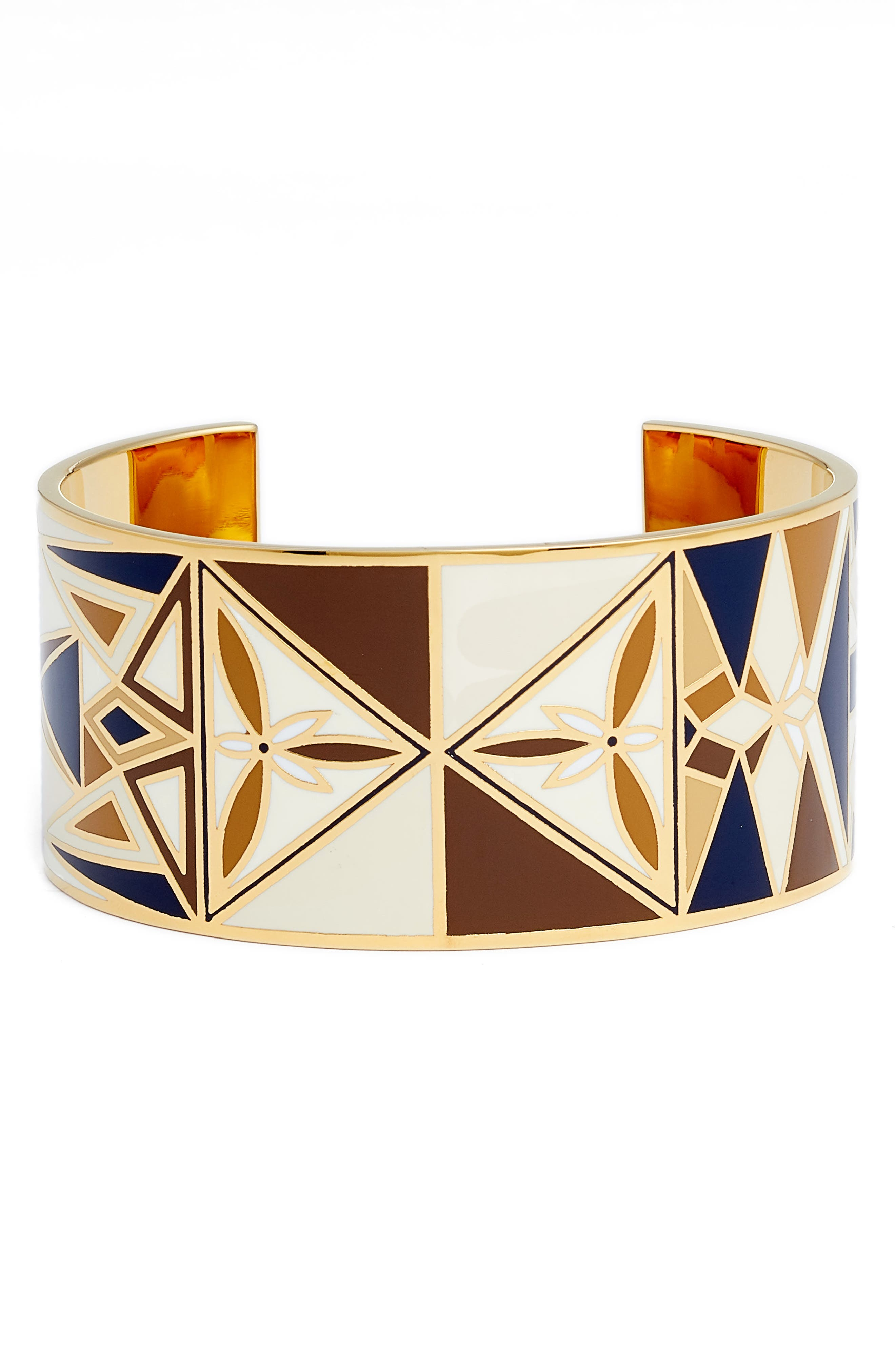 Alternate Image 1 Selected - Tory Burch Kaleidescope Enamel Cuff