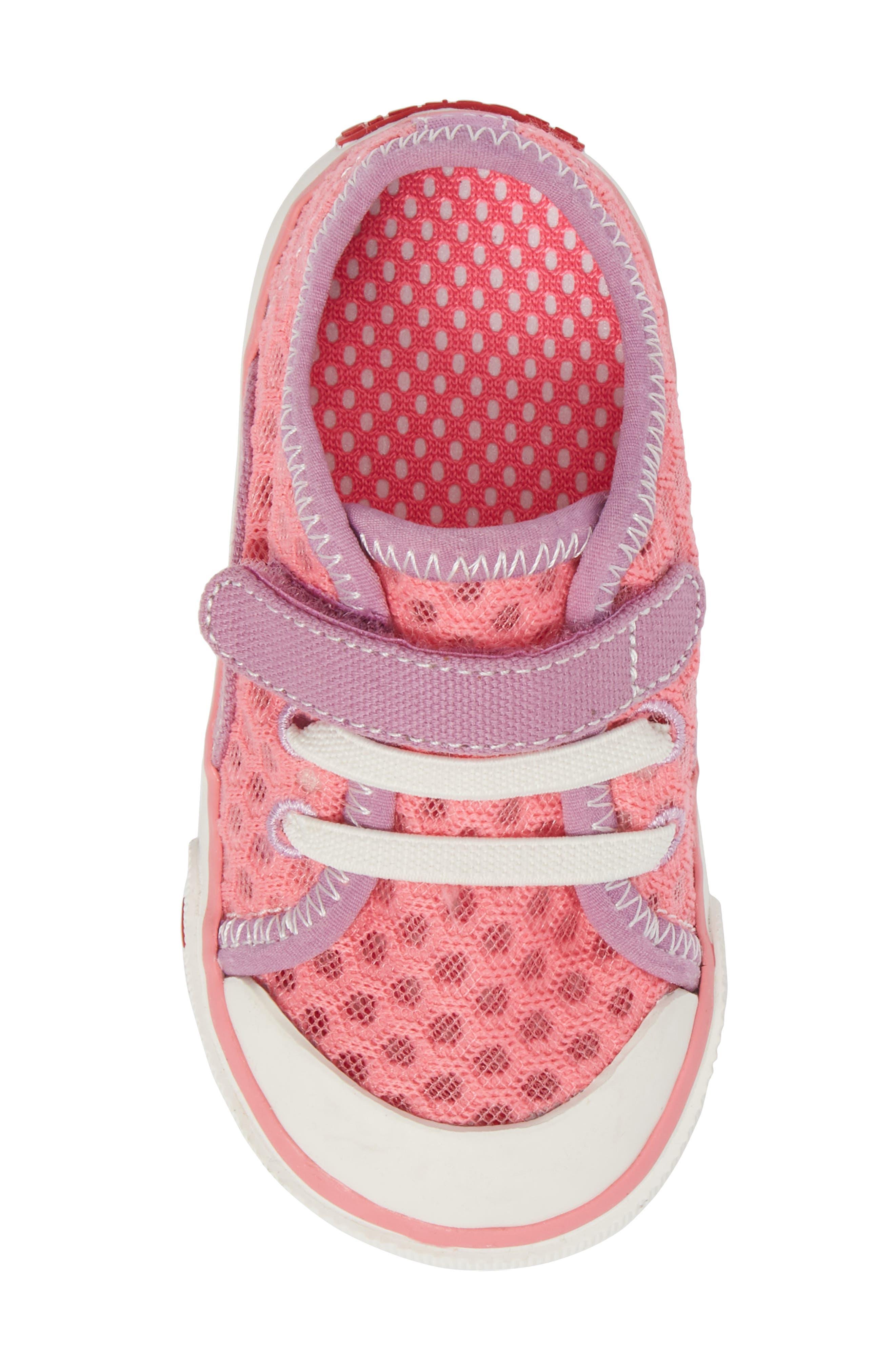 Saylor Sneaker,                             Alternate thumbnail 5, color,                             Hot Pink