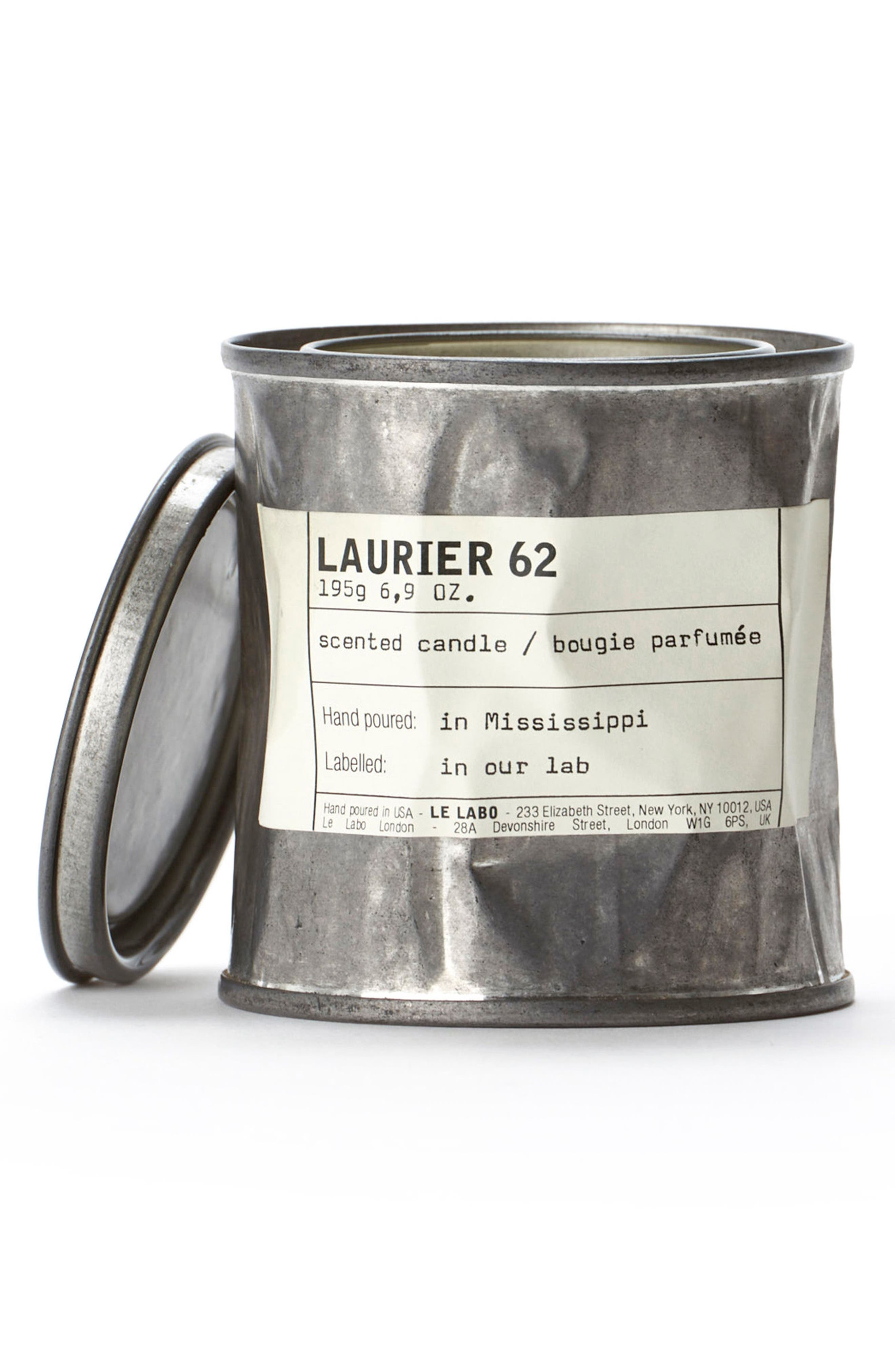 Alternate Image 1 Selected - Le Labo 'Laurier 62' Vintage Candle Tin