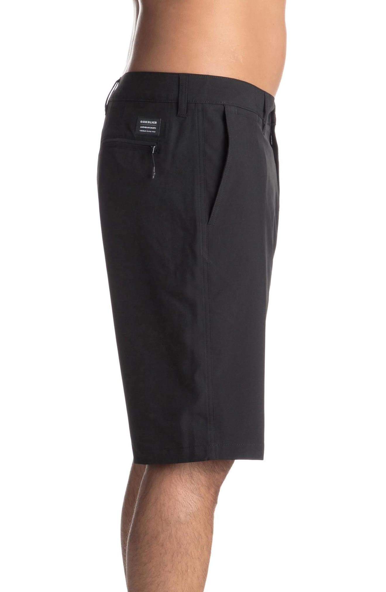 Union Amphibian Shorts,                             Alternate thumbnail 3, color,                             Black