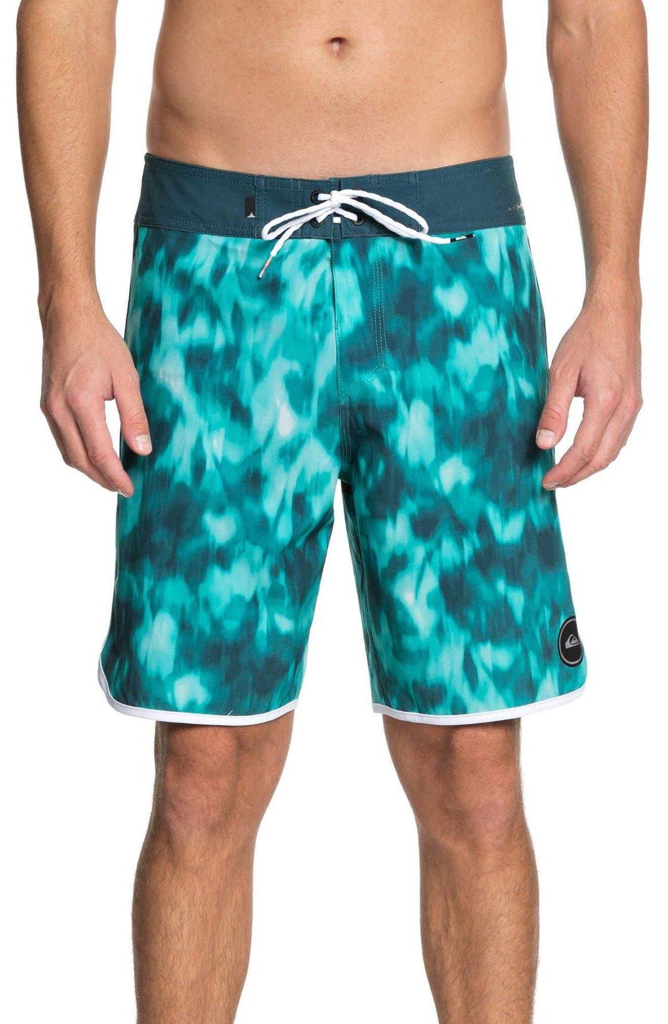 Highline Recon Board Shorts,                             Main thumbnail 1, color,                             Atlantic Deep