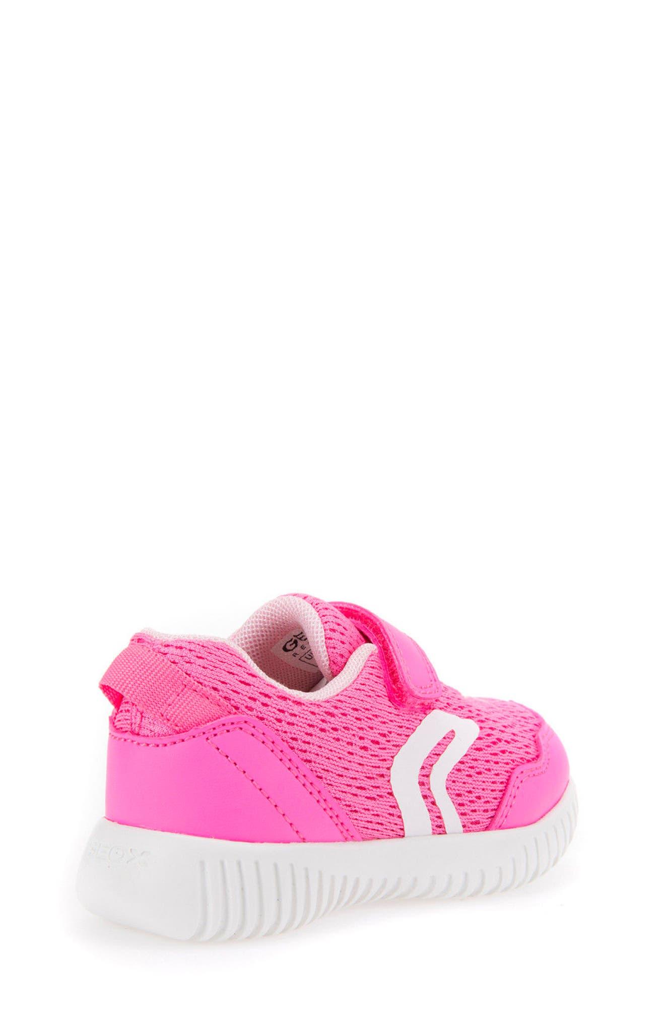 Waviness Sneaker,                             Alternate thumbnail 2, color,                             Fluorescent Fuchsia
