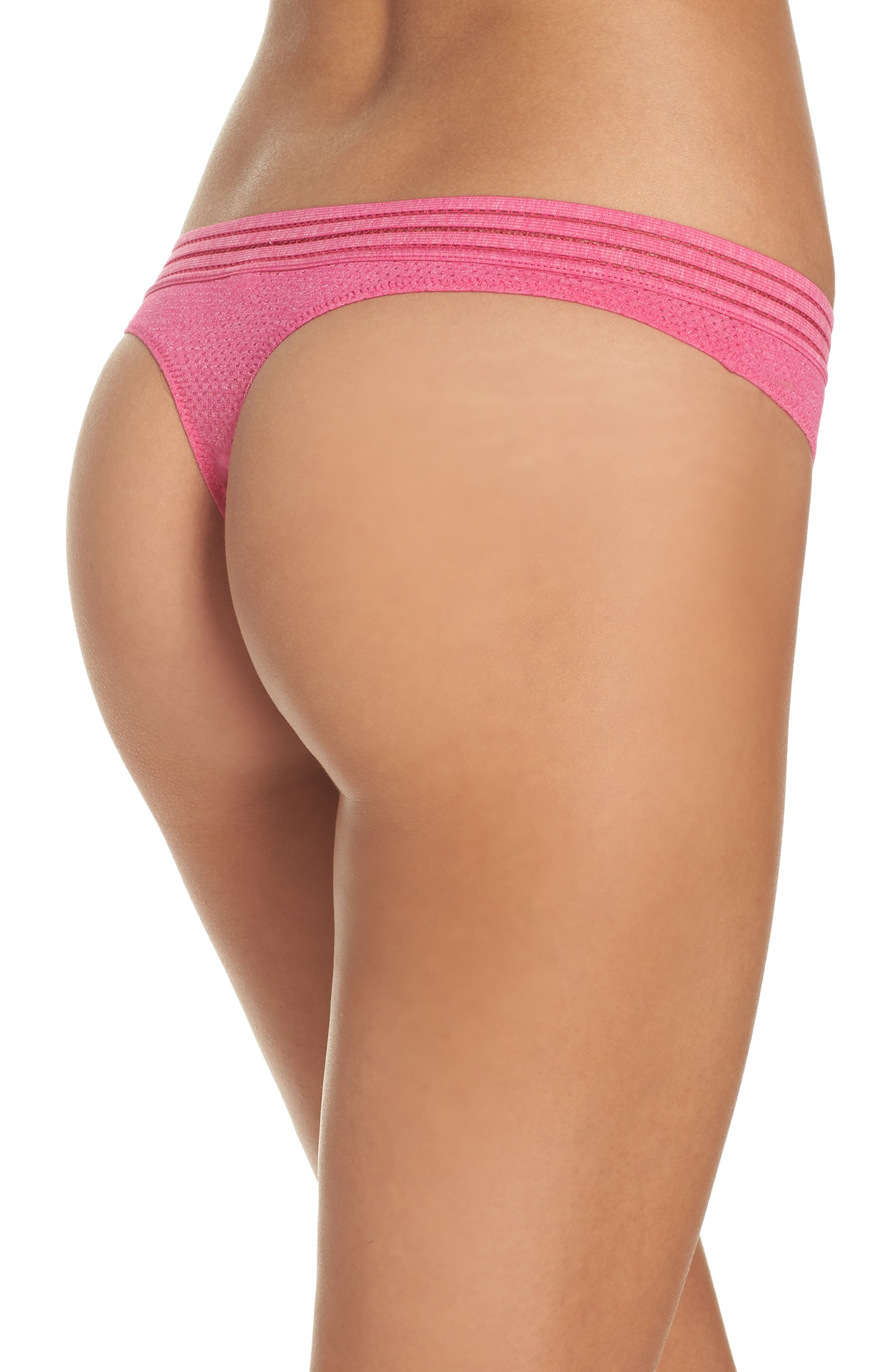 Active Thong,                             Alternate thumbnail 2, color,                             Pink Peacock
