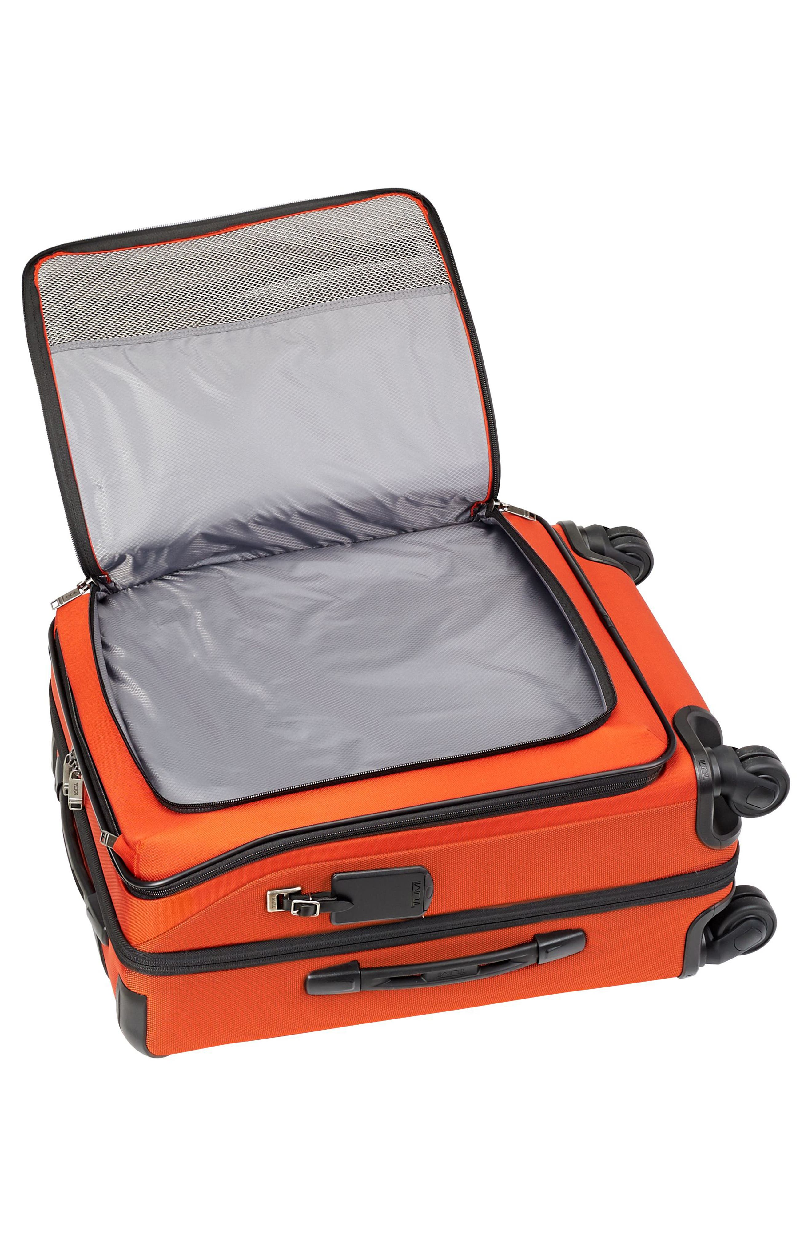 Merge - Continental Expandable Rolling Carry-On,                             Alternate thumbnail 2, color,                             Sunset Red