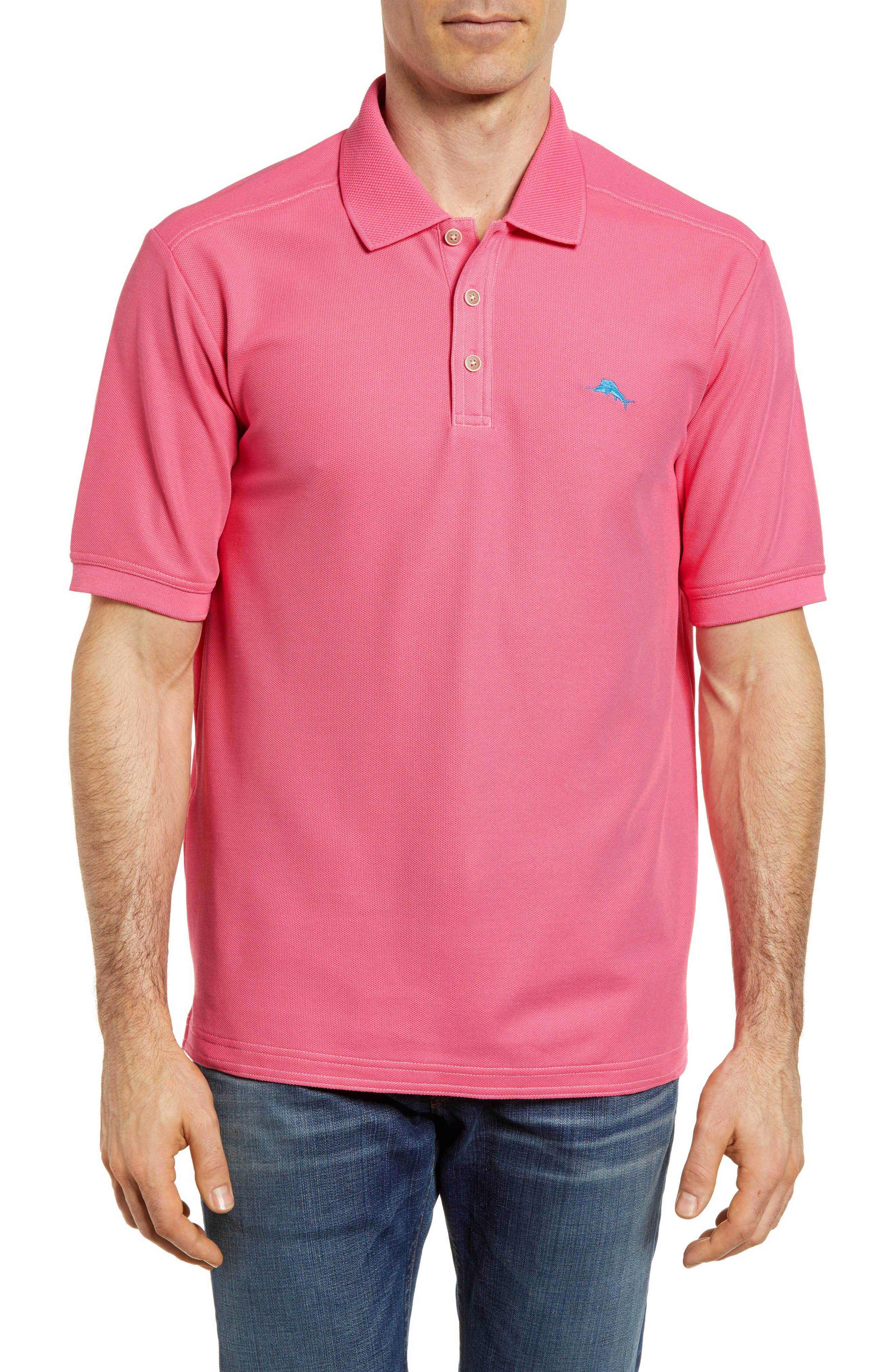 Main Image - Tommy Bahama 'The Emfielder' Original Fit Piqué Polo