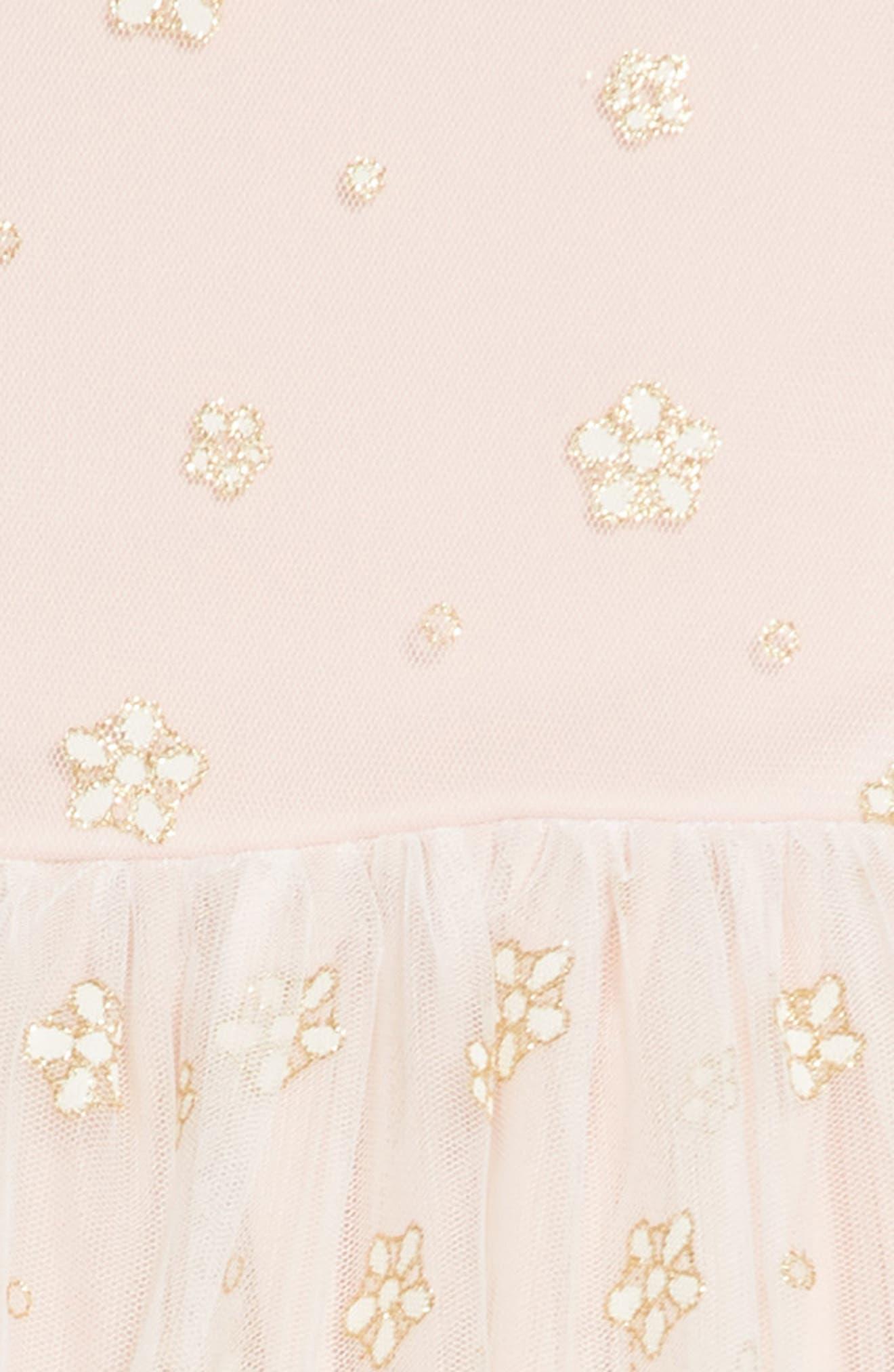 Alternate Image 3  - Frais Glitter Mesh Tulle Dress (Toddler Girls, Little Girls & Big Girls)
