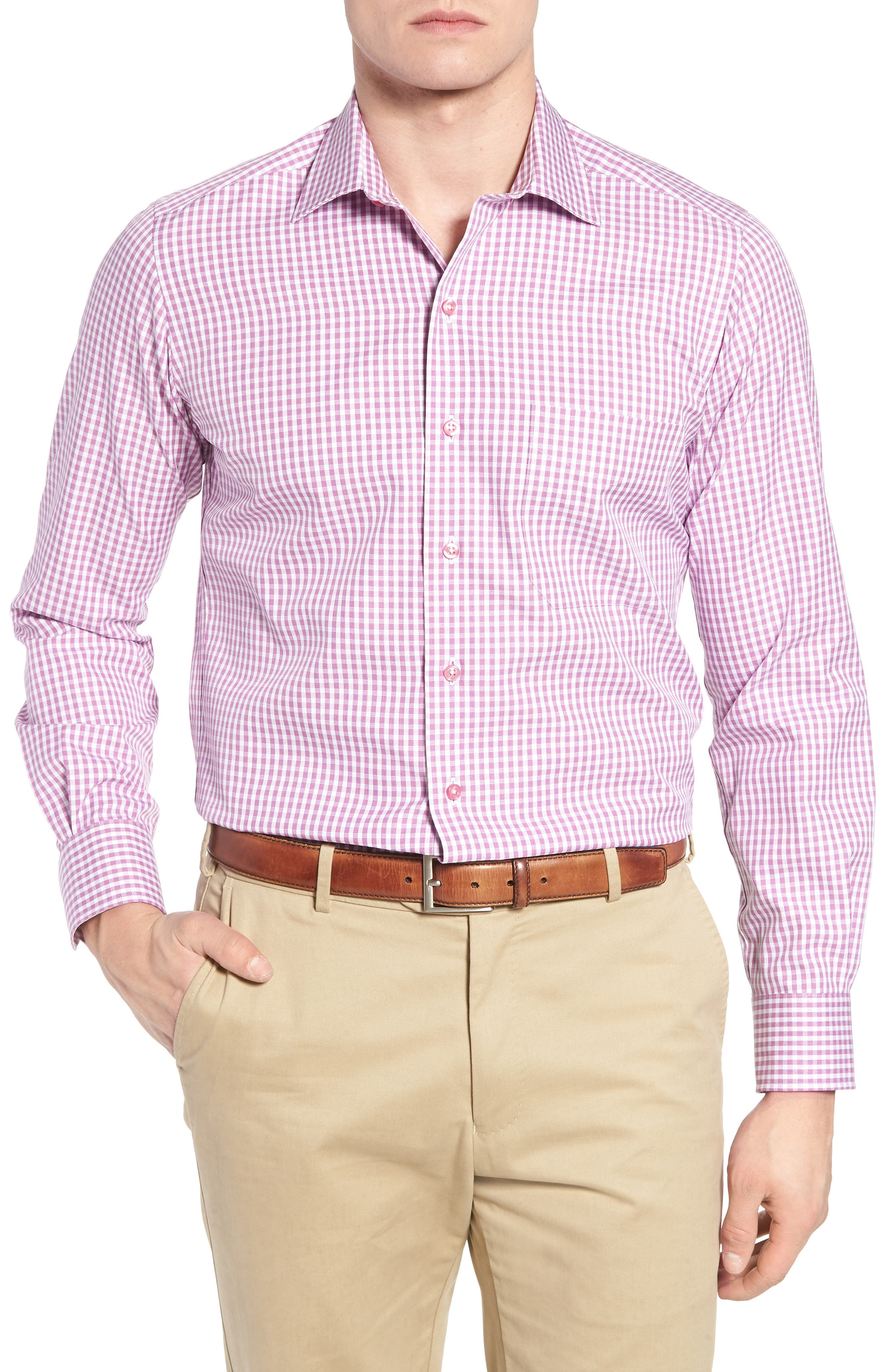 Sport Shirt,                             Main thumbnail 1, color,                             Purple