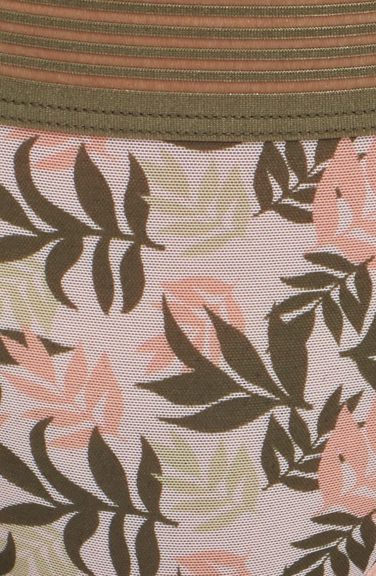 Tanga,                             Alternate thumbnail 9, color,                             Print Leaves