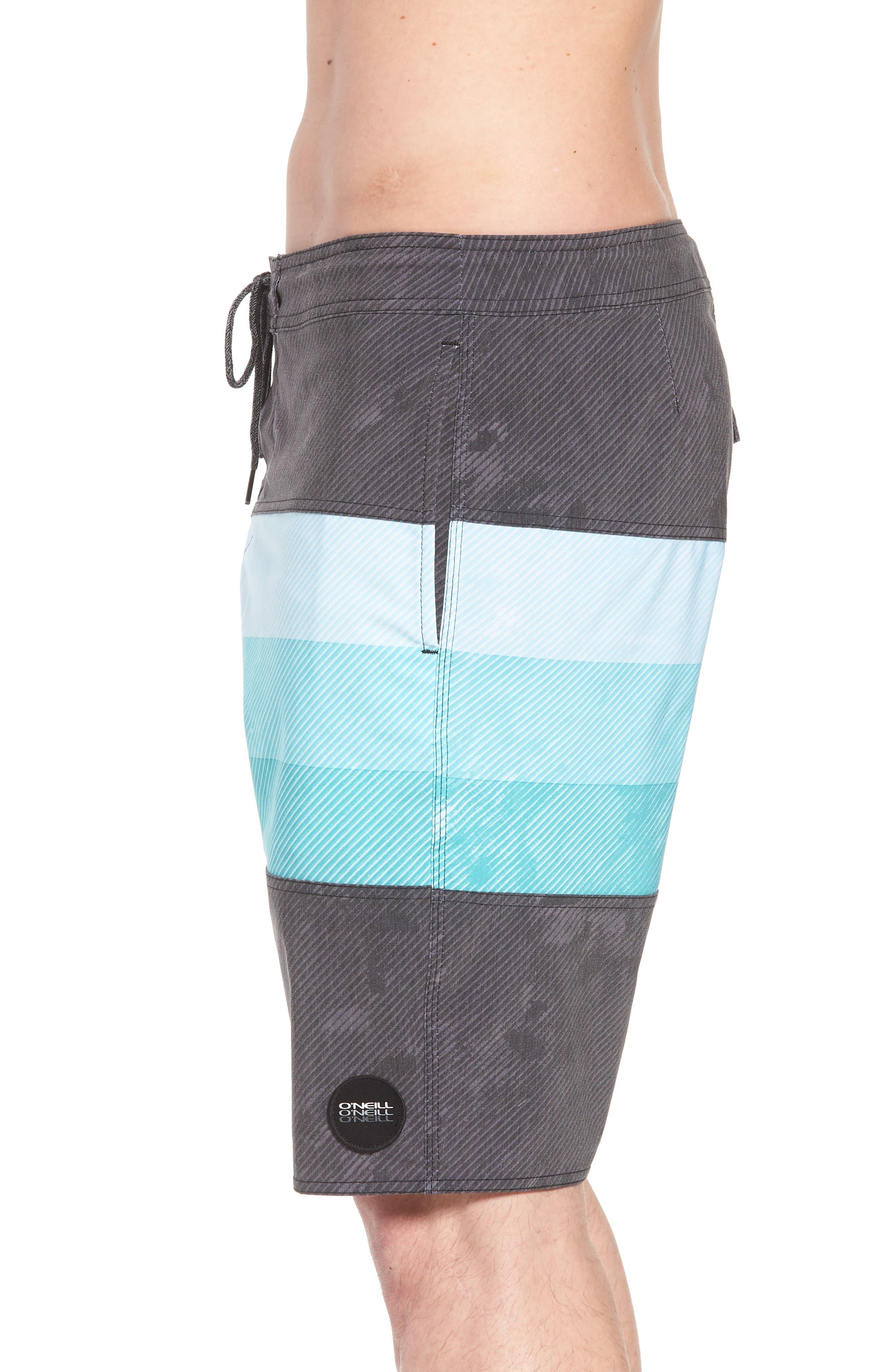 Region Cruzer Board Shorts,                             Alternate thumbnail 3, color,                             Black