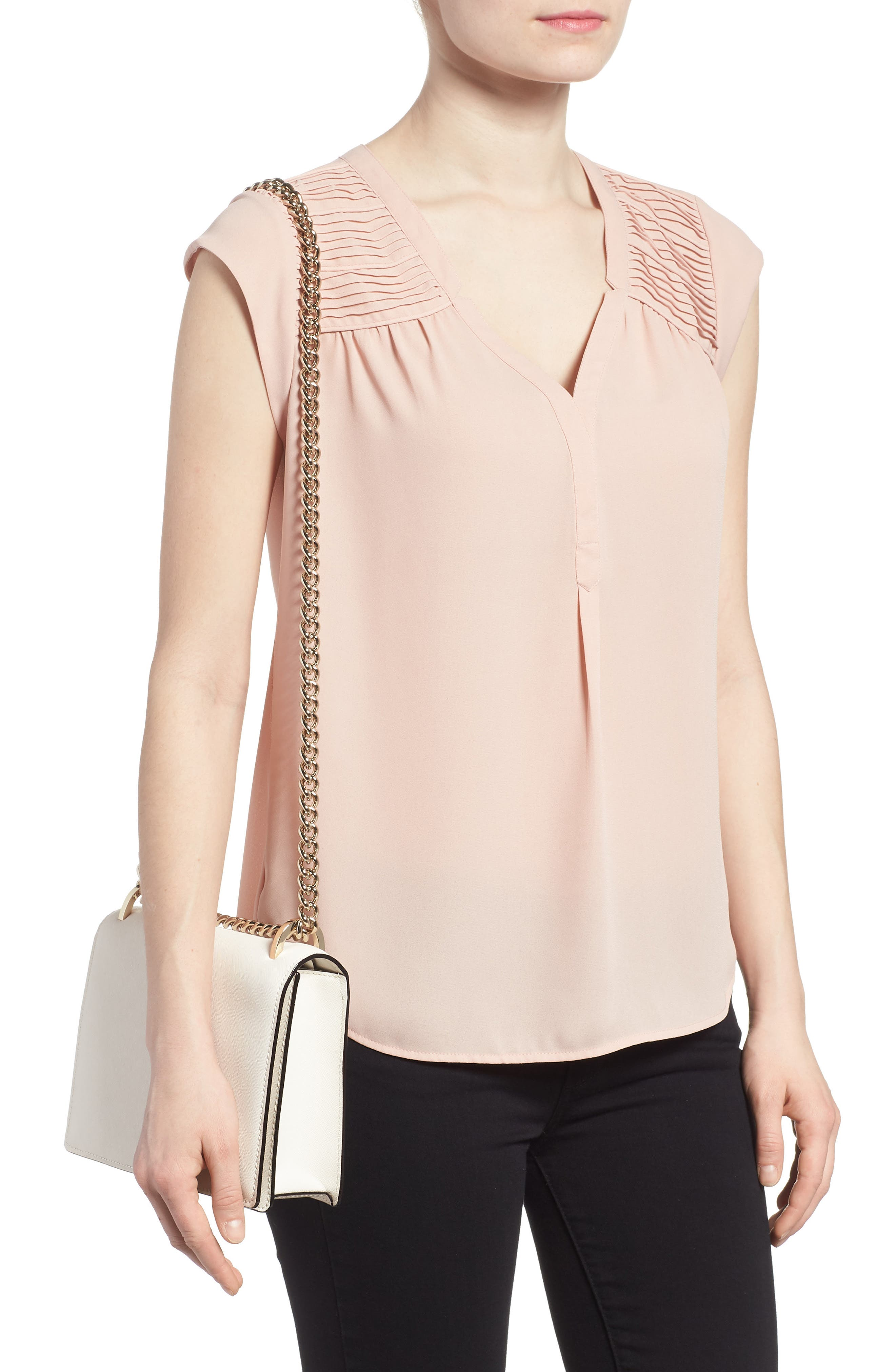 cameron street marci leather shoulder bag,                             Alternate thumbnail 2, color,                             Cement