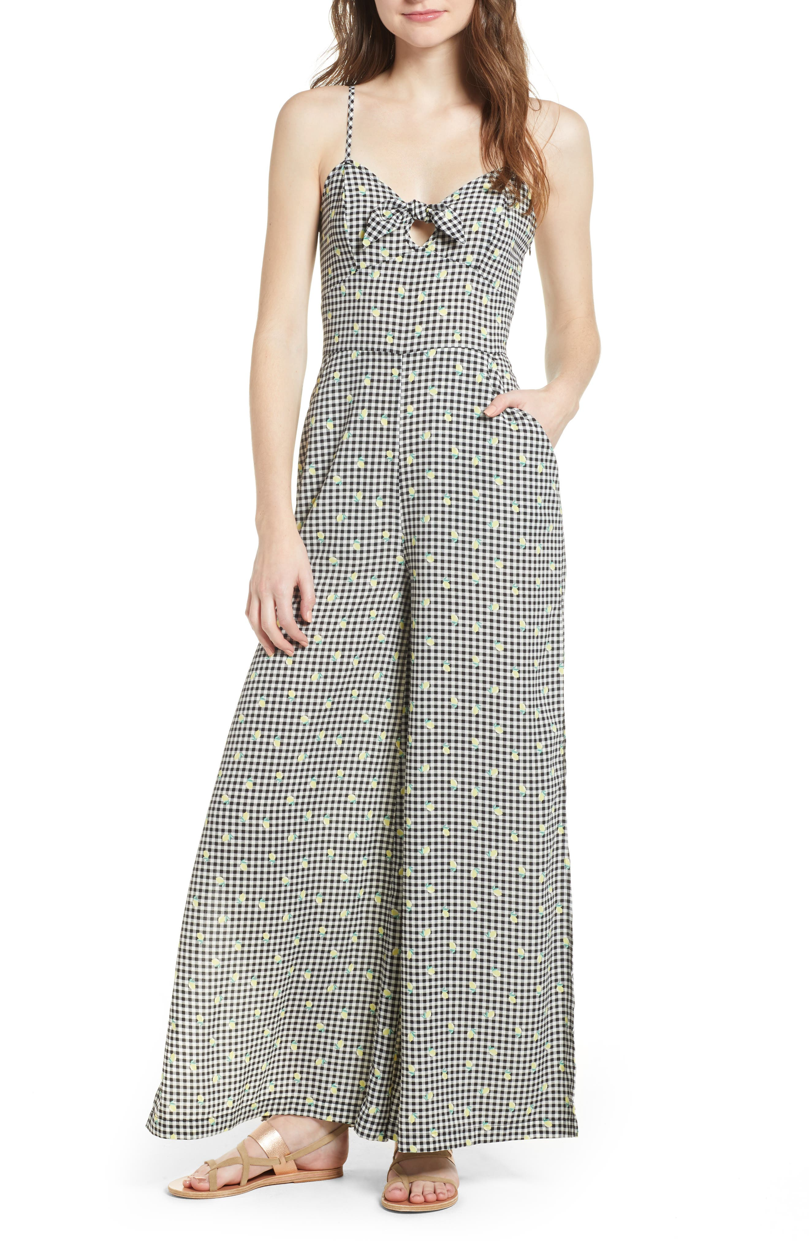 Love, Fire Wide Leg Jumpsuit