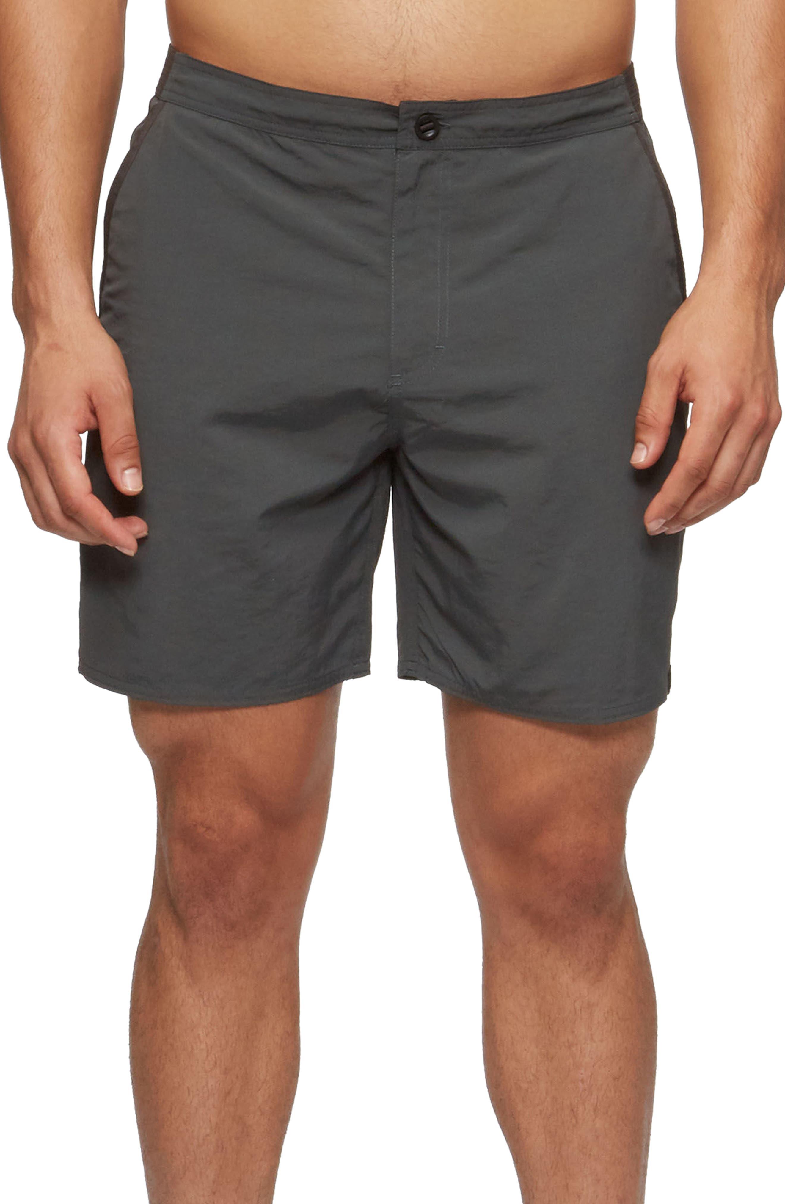 Catera Swim Shorts,                         Main,                         color, Coal Camo