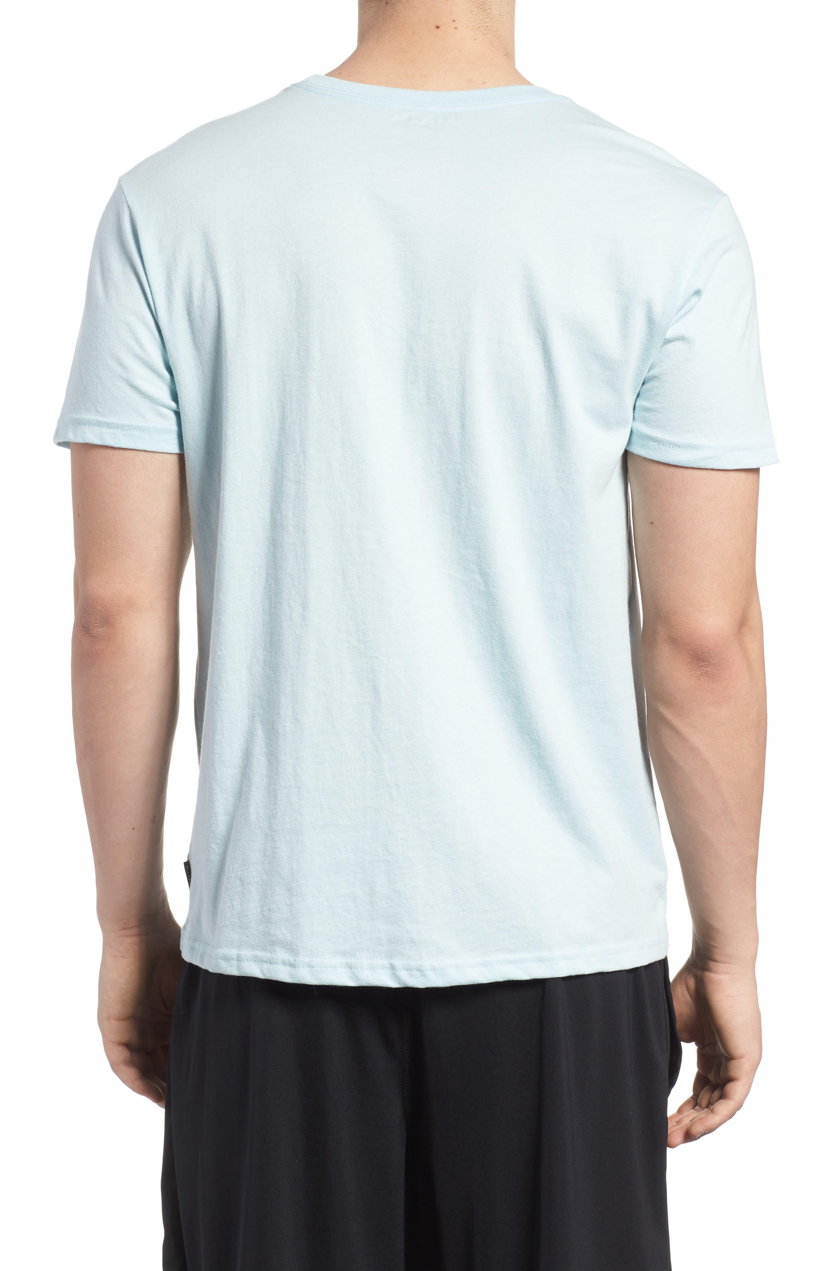 Team Stripe Pocket T-Shirt,                             Alternate thumbnail 2, color,                             Coastal Blue