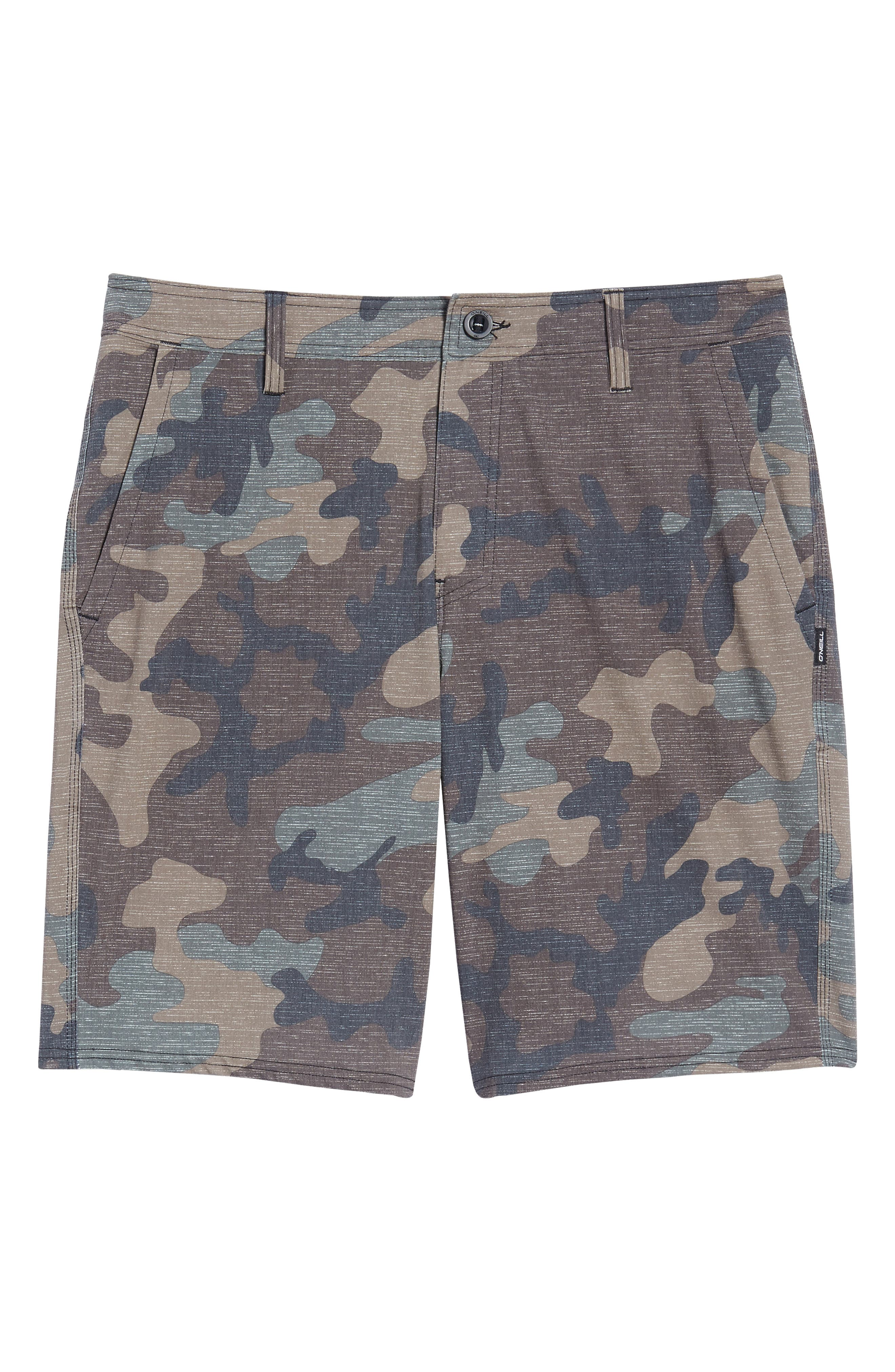 Mixed Hybrid Shorts,                             Alternate thumbnail 6, color,                             Camo