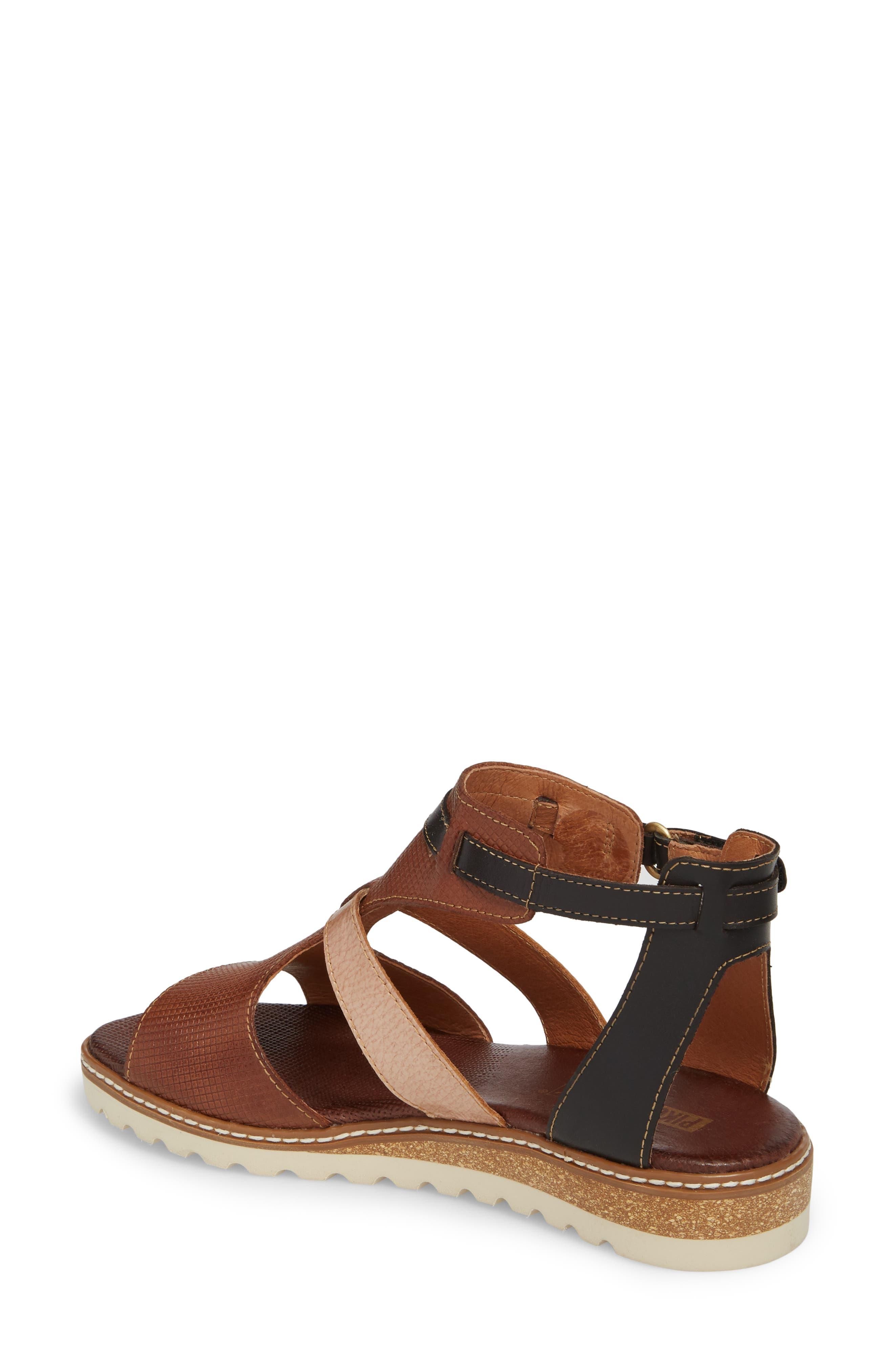 Alcudia Sandal,                             Alternate thumbnail 2, color,                             Cuero Leather