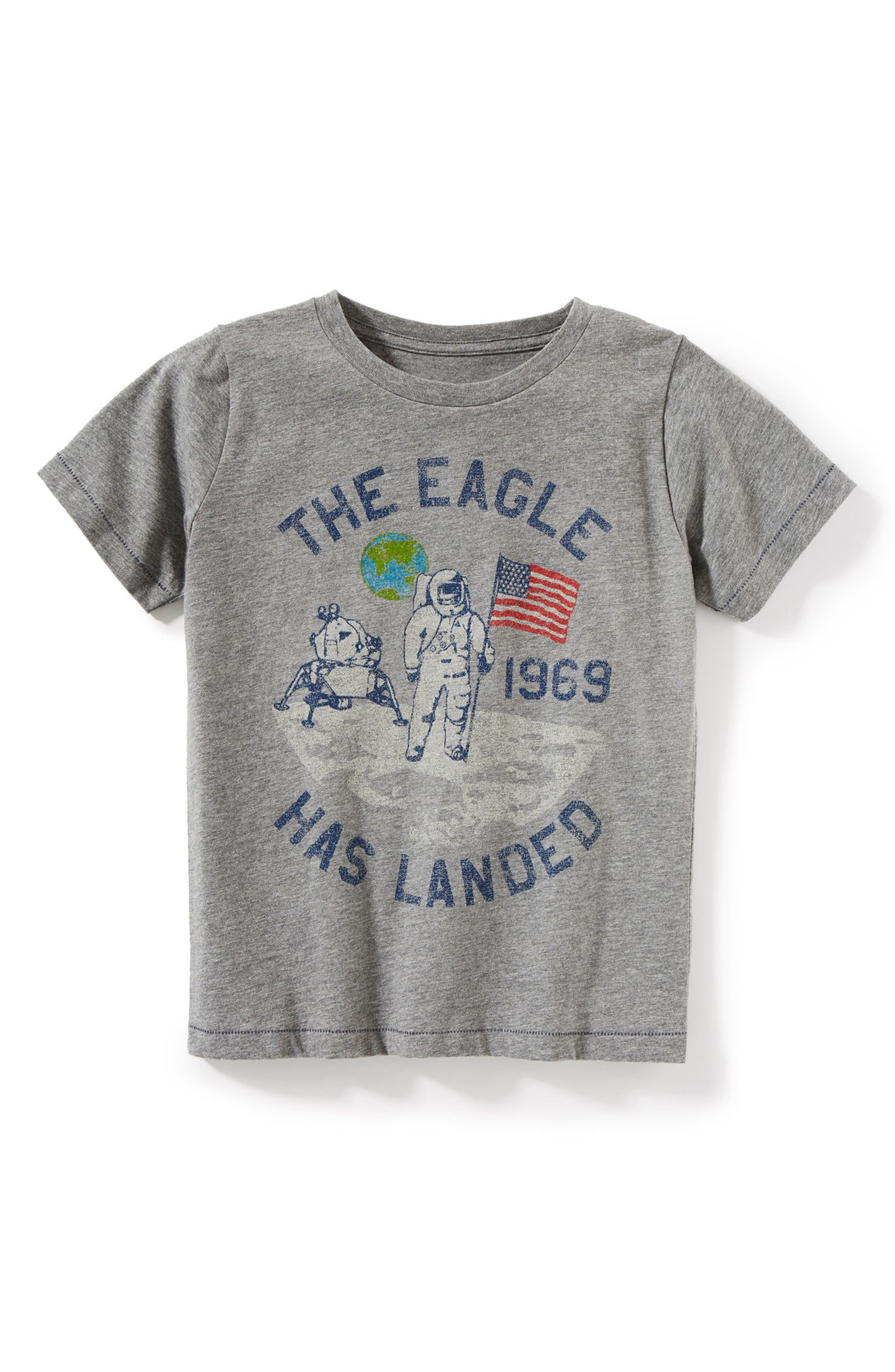 Apollo 11 Graphic T-Shirt,                         Main,                         color, Grey