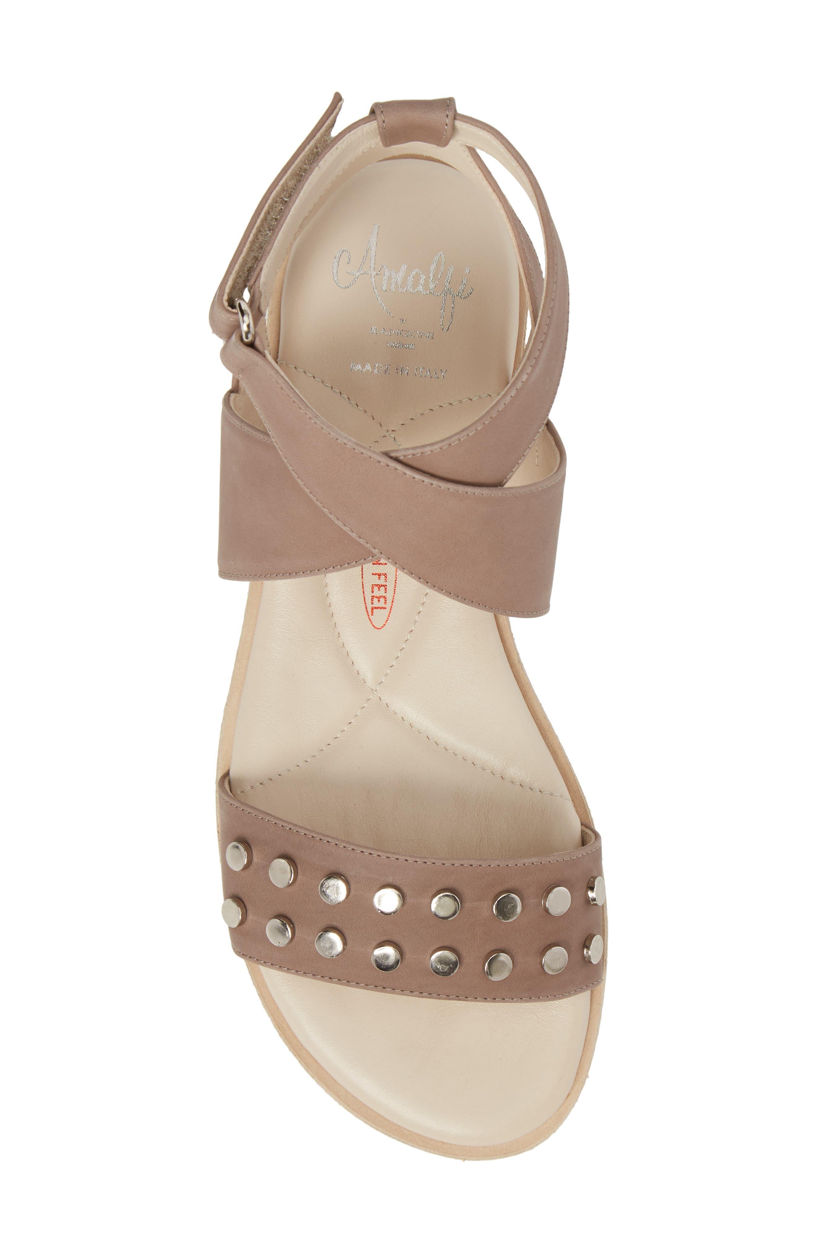 Barlume Sandal,                             Alternate thumbnail 5, color,                             Taupe Leather