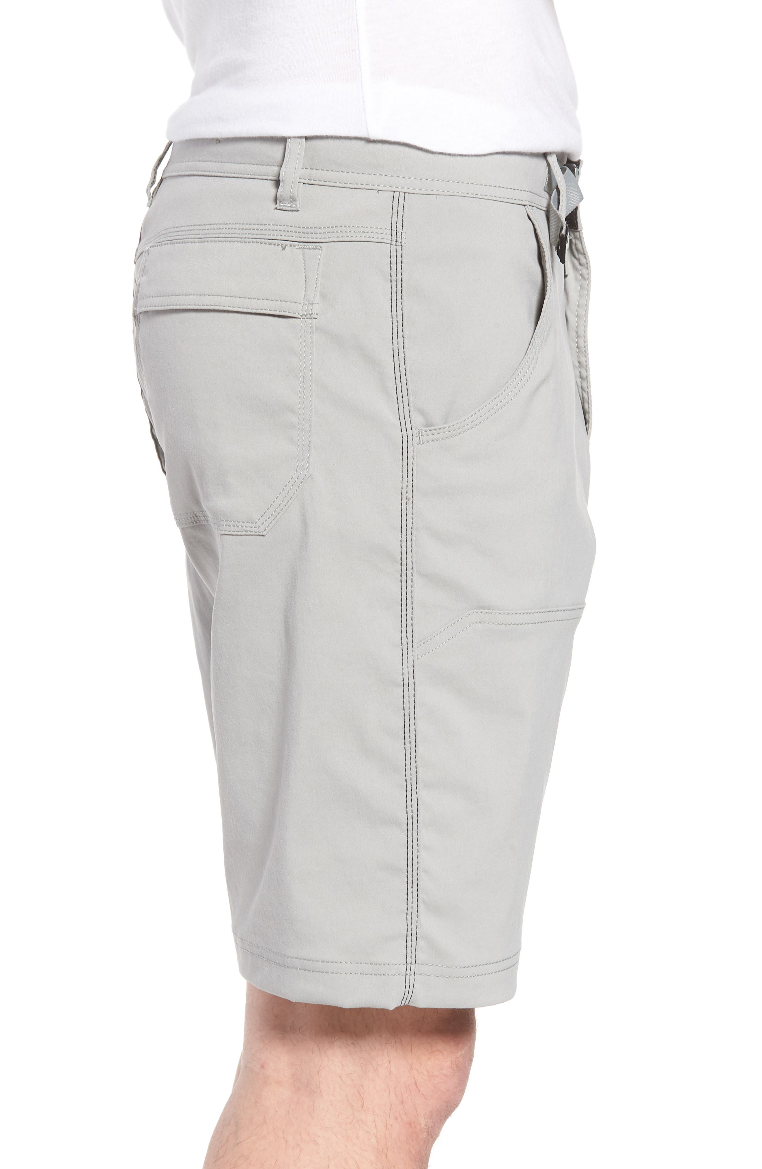 Zion Stretch Shorts,                             Alternate thumbnail 3, color,                             Grey