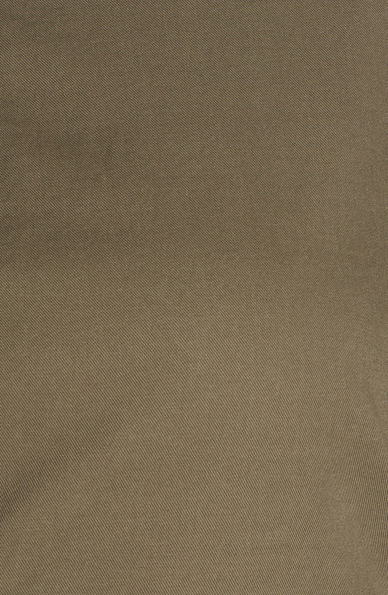 Snap Pocket Utility Jacket,                             Alternate thumbnail 6, color,                             Olive Kalamata