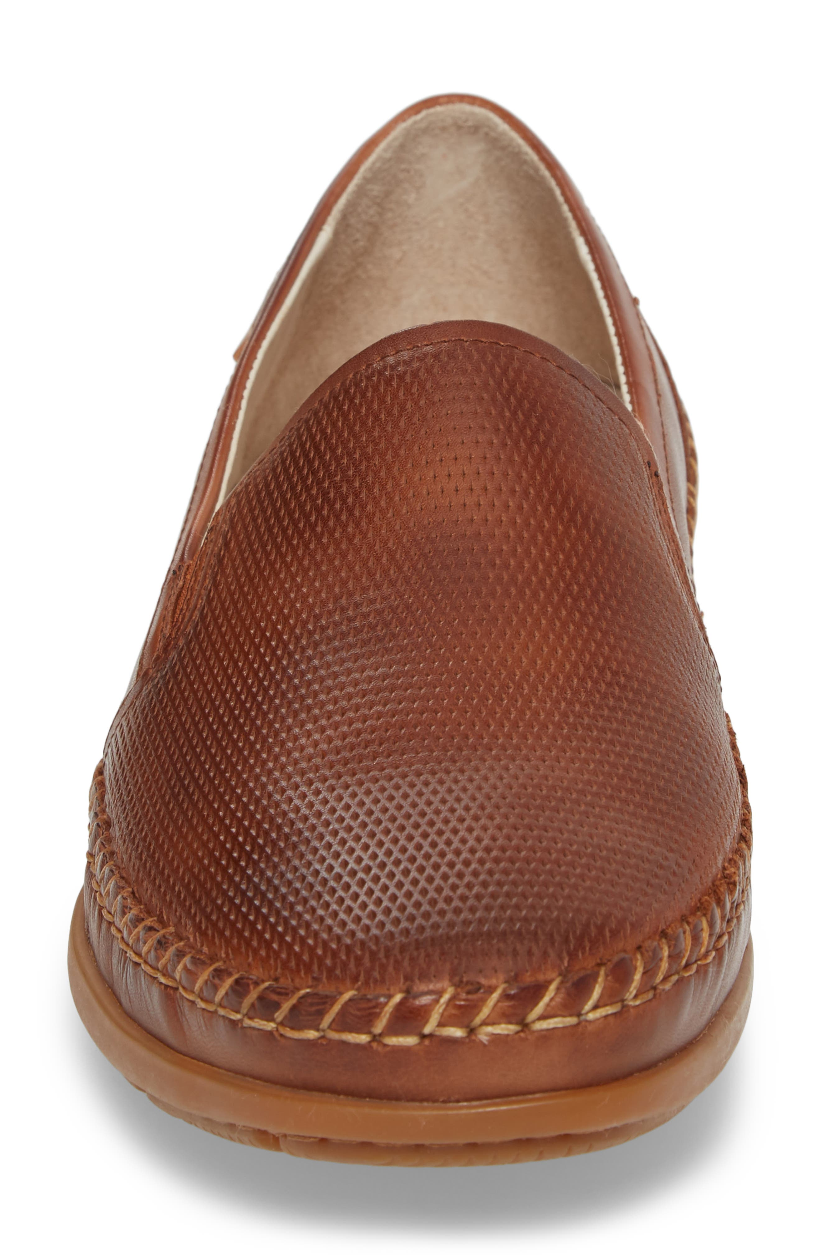 Atlet Embossed Slip-On,                             Alternate thumbnail 4, color,                             Cuero Leather