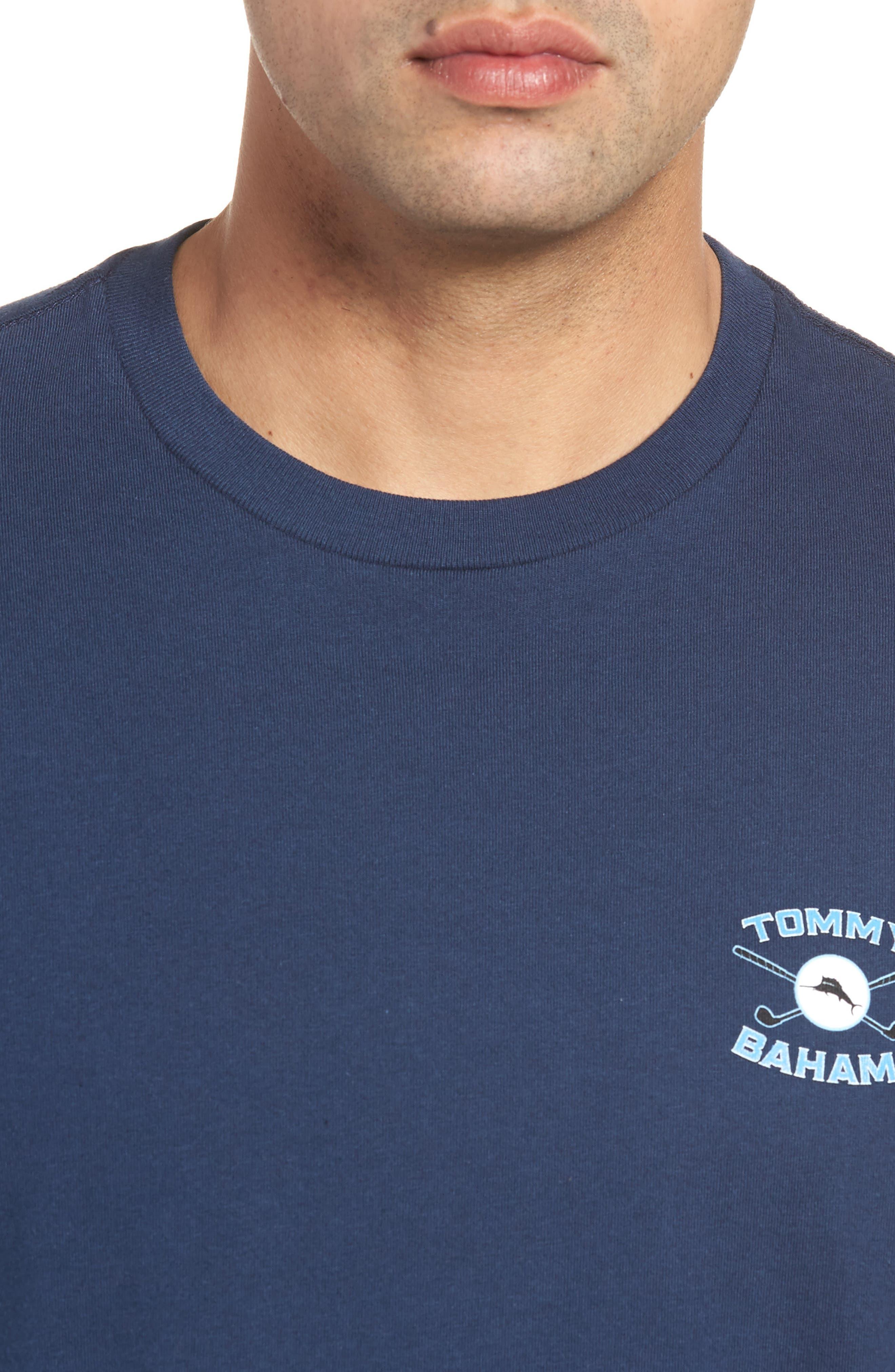 The Lawn Ranger T-Shirt,                             Alternate thumbnail 4, color,                             Navy