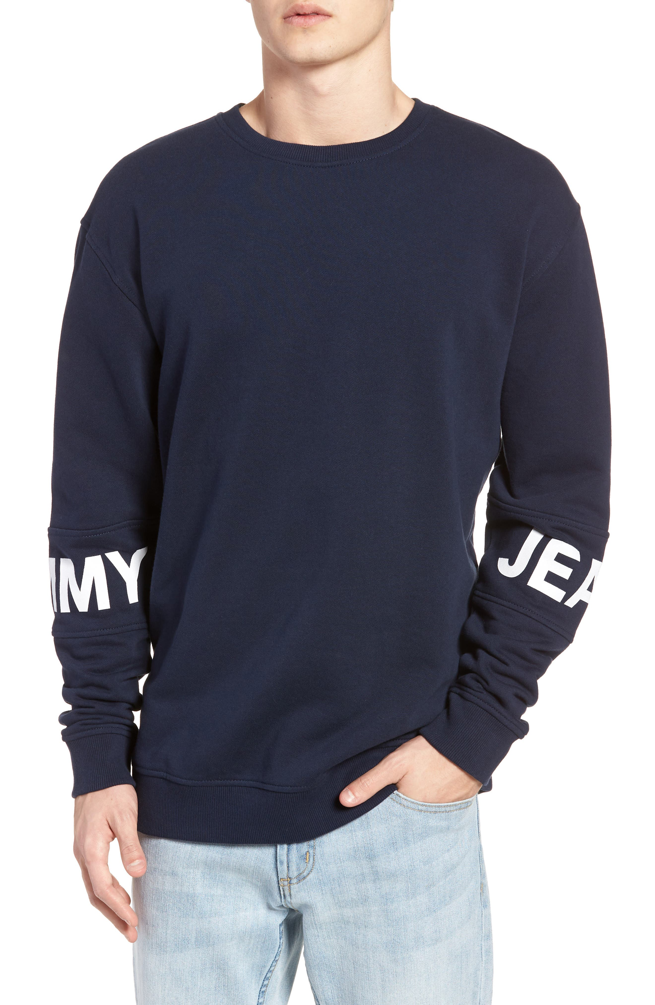 Essential Banded Logo Sweatshirt by Tommy Jeans