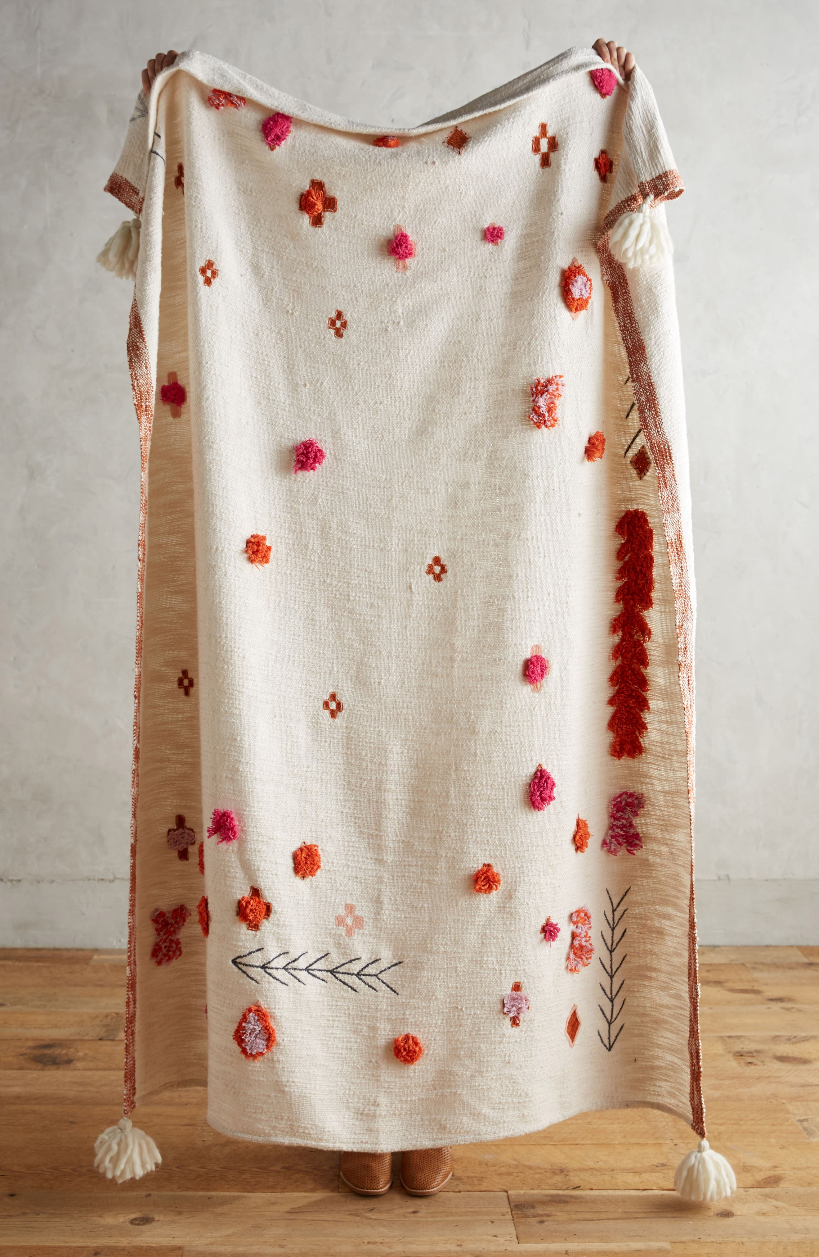 Anthropologie Heradia Throw