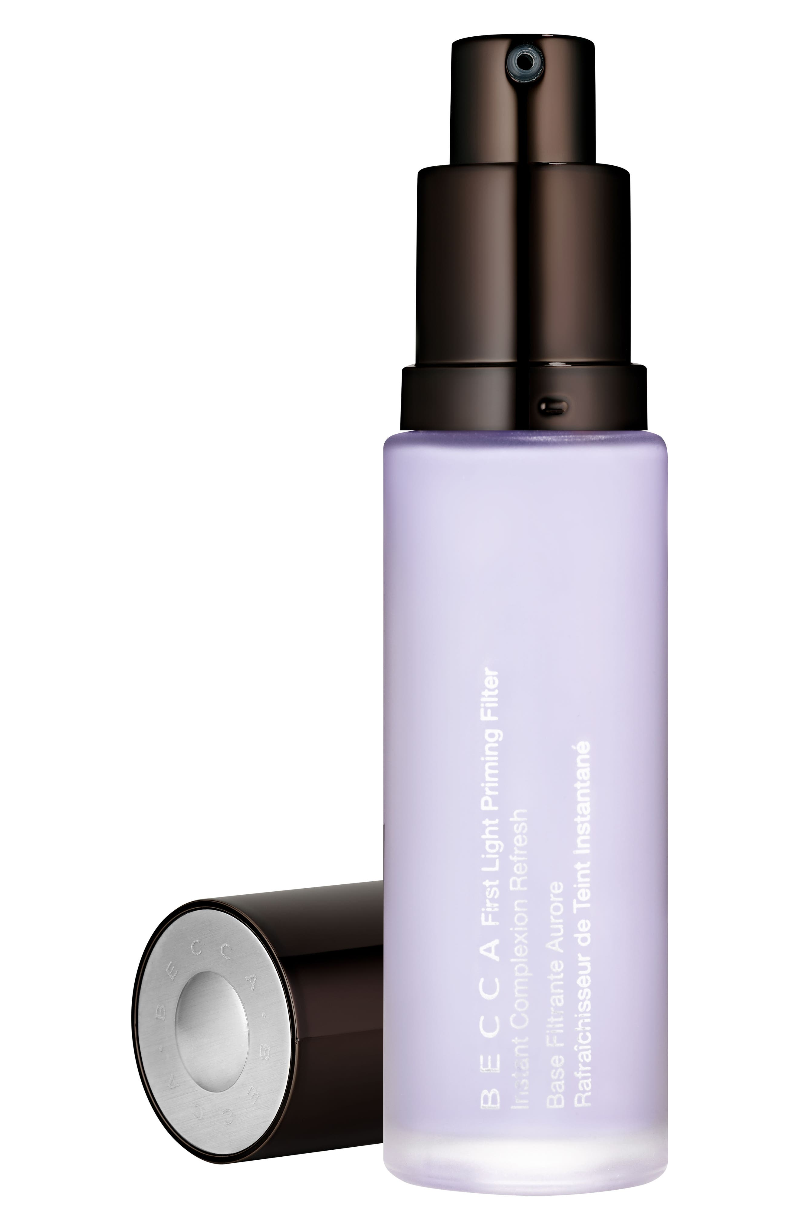 BECCA First Light Priming Filter Instant Complexion Refresh,                             Main thumbnail 1, color,                             No Color
