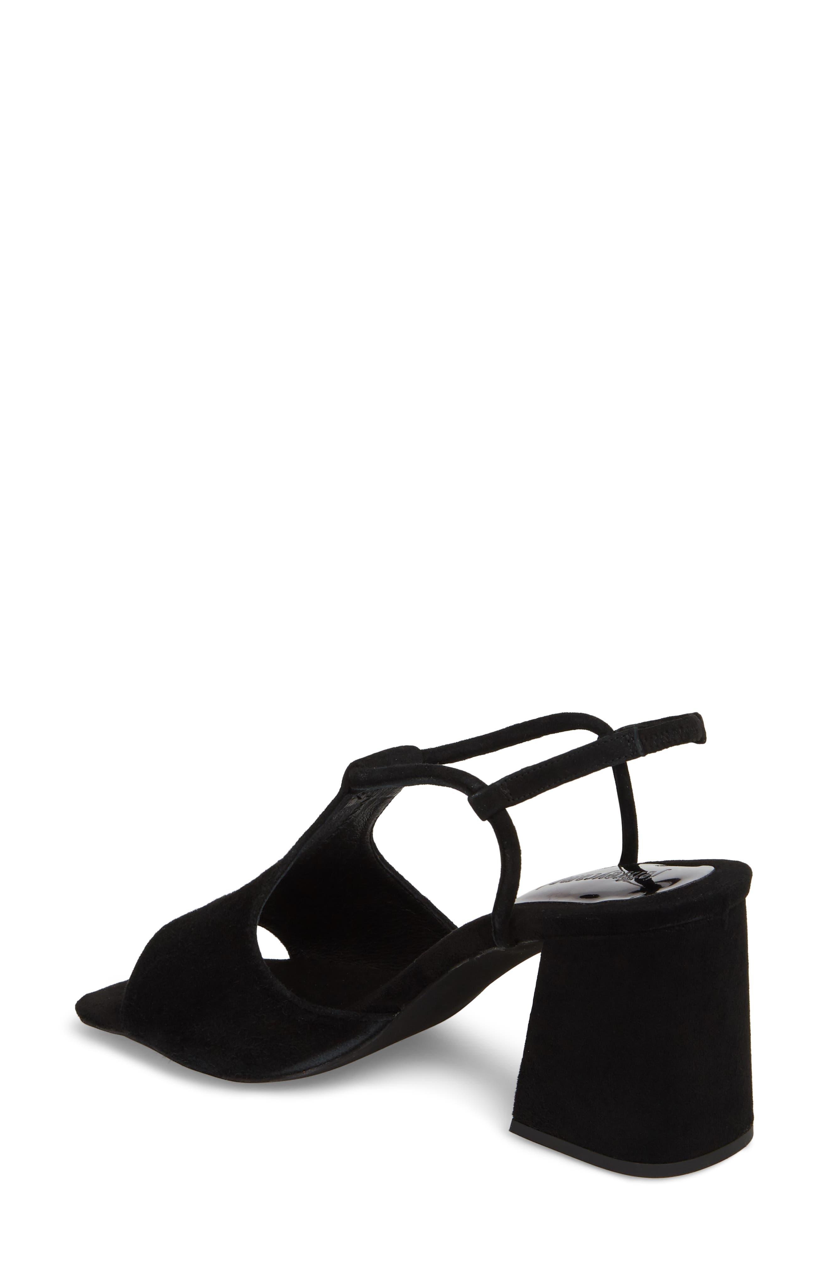 Mercedes Halter Sandal,                             Alternate thumbnail 2, color,                             Black Suede
