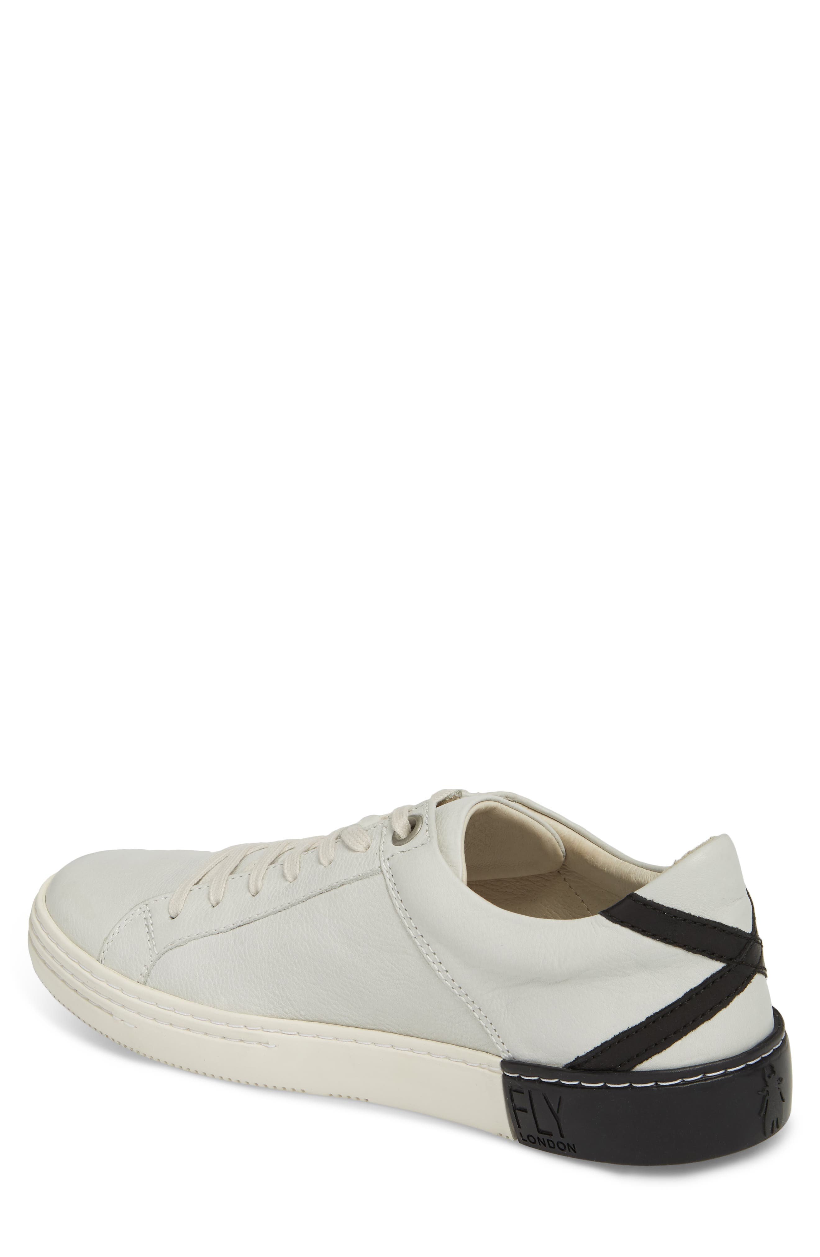 Sene Low Top Sneaker,                             Alternate thumbnail 2, color,                             Off White Leather