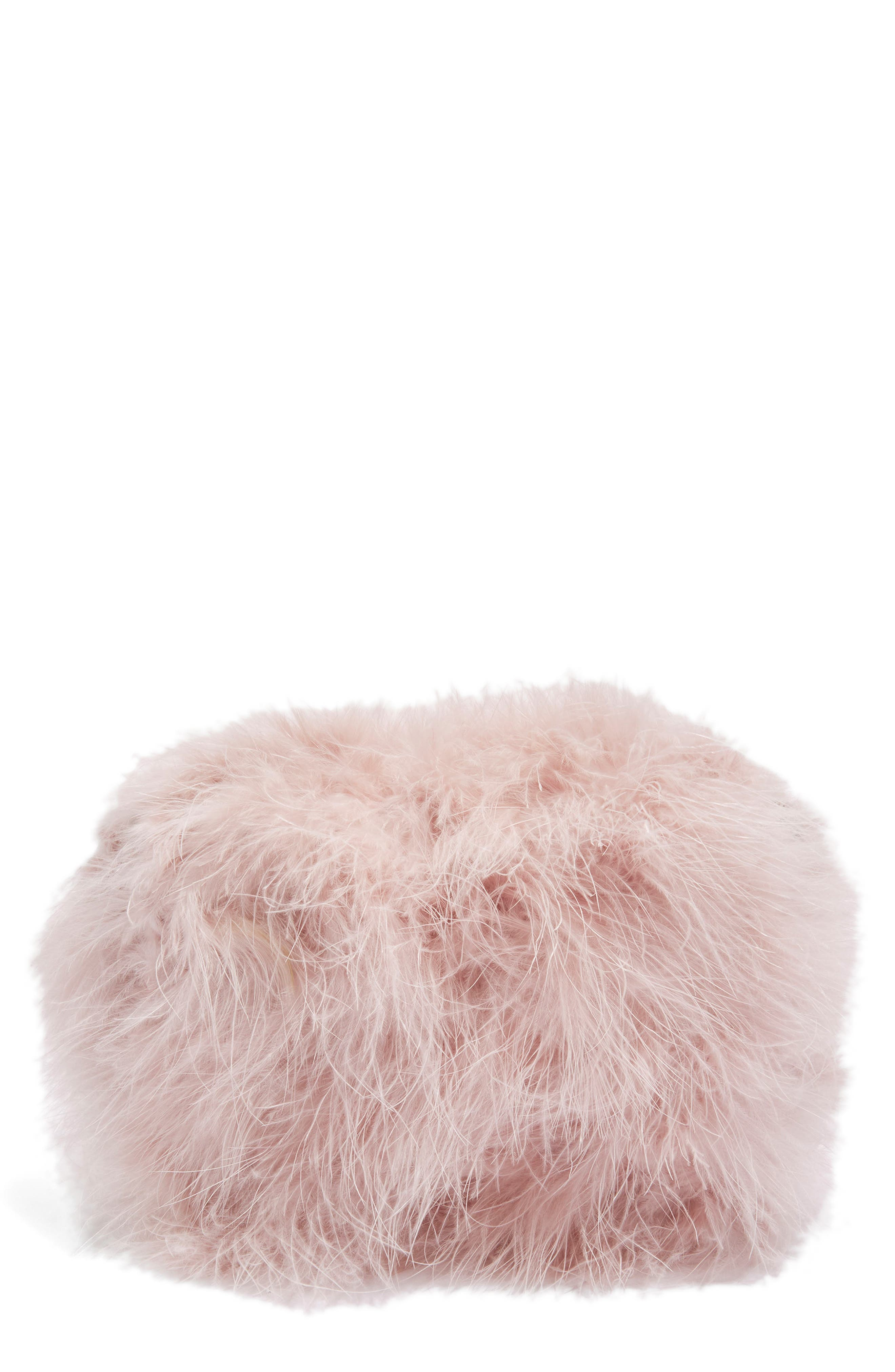 Alternate Image 1 Selected - Topshop Riga Feather Crossbody Bag
