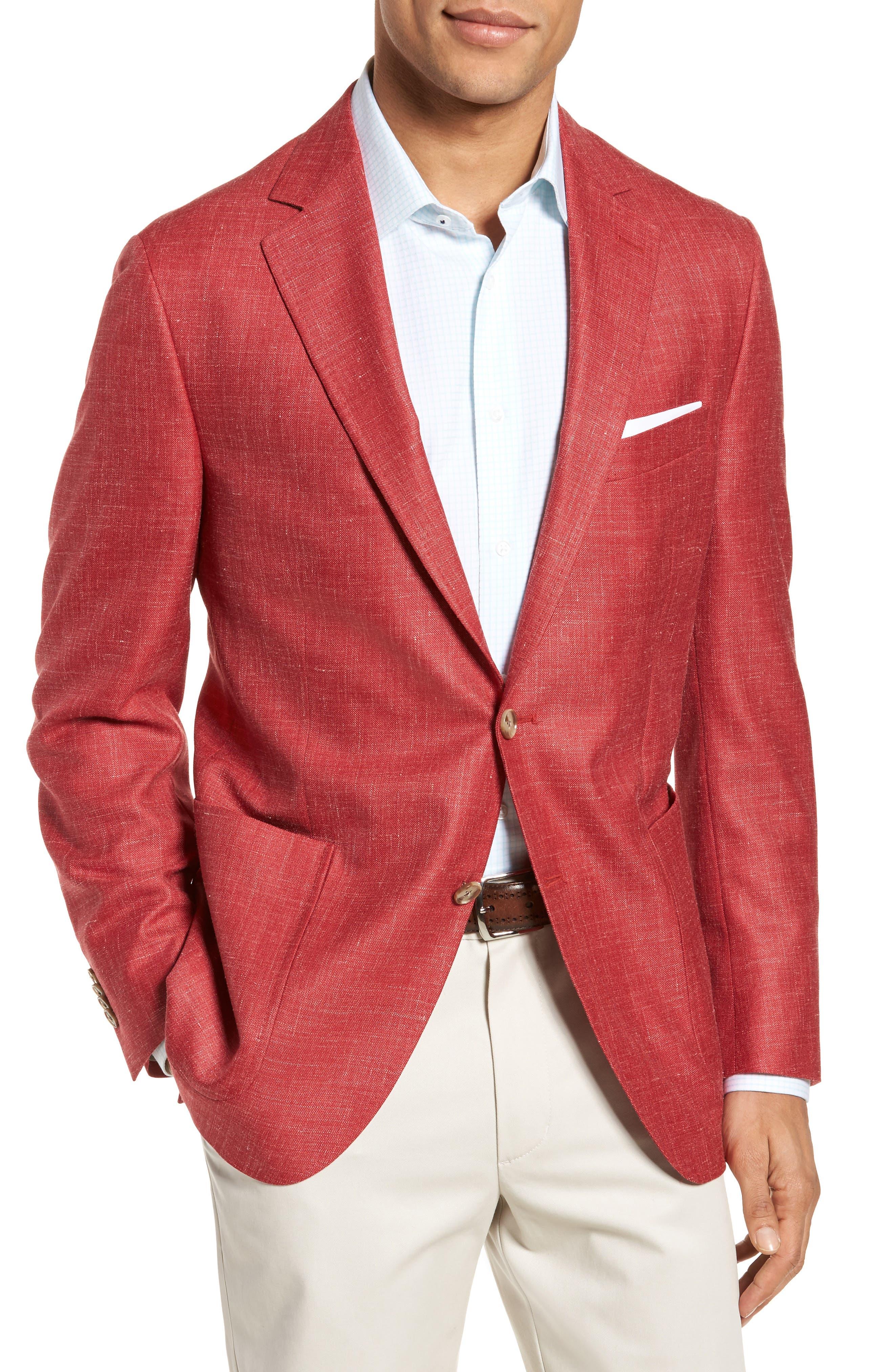 Main Image - Peter Millar Classic Fit Wool Blend Blazer
