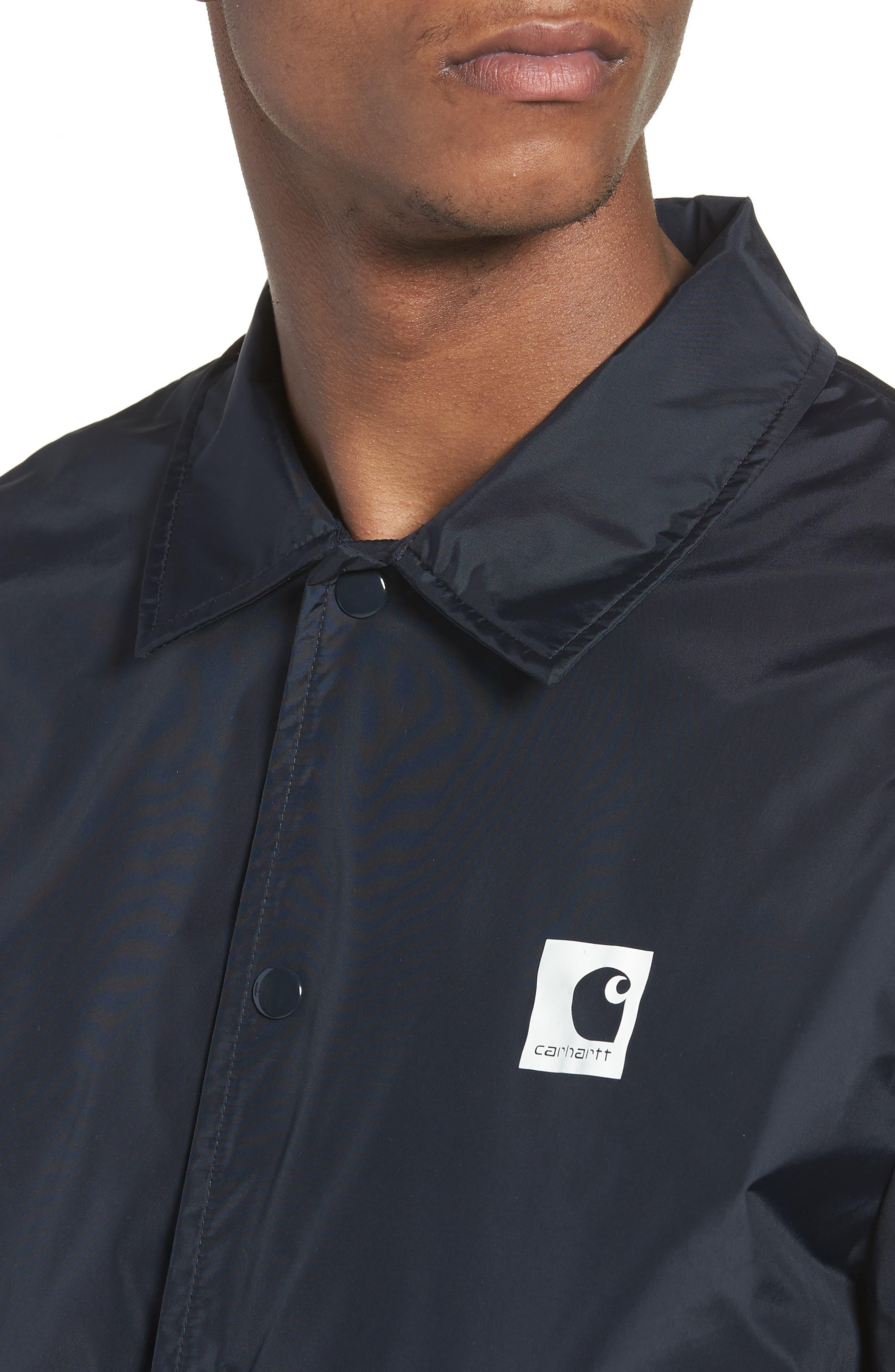 Alternate Image 4  - Carhartt Work in Progress Sport Coach's Jacket